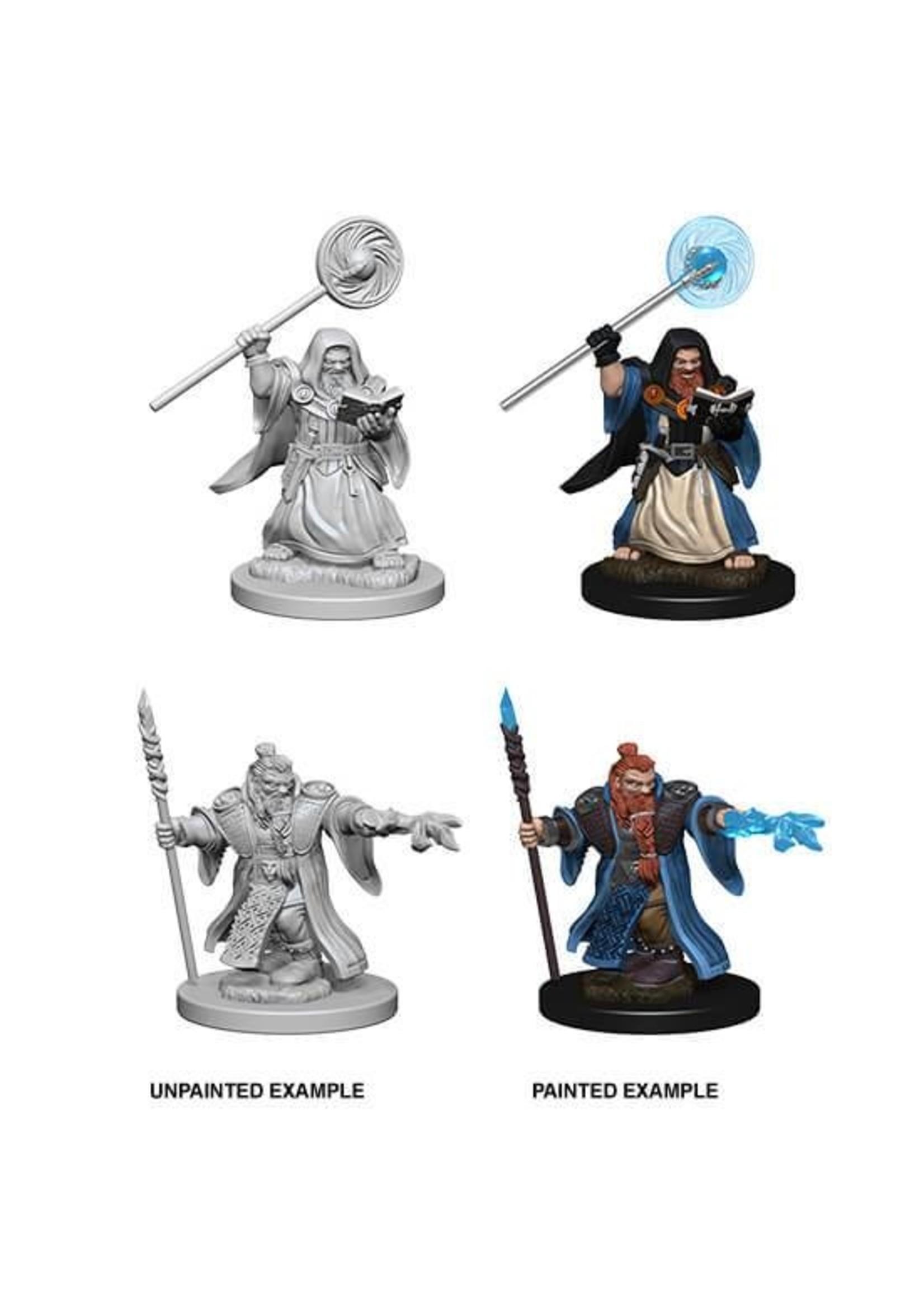 Neca D&D Nolzur's Marvelous Miniatures - Dwarf Wizard