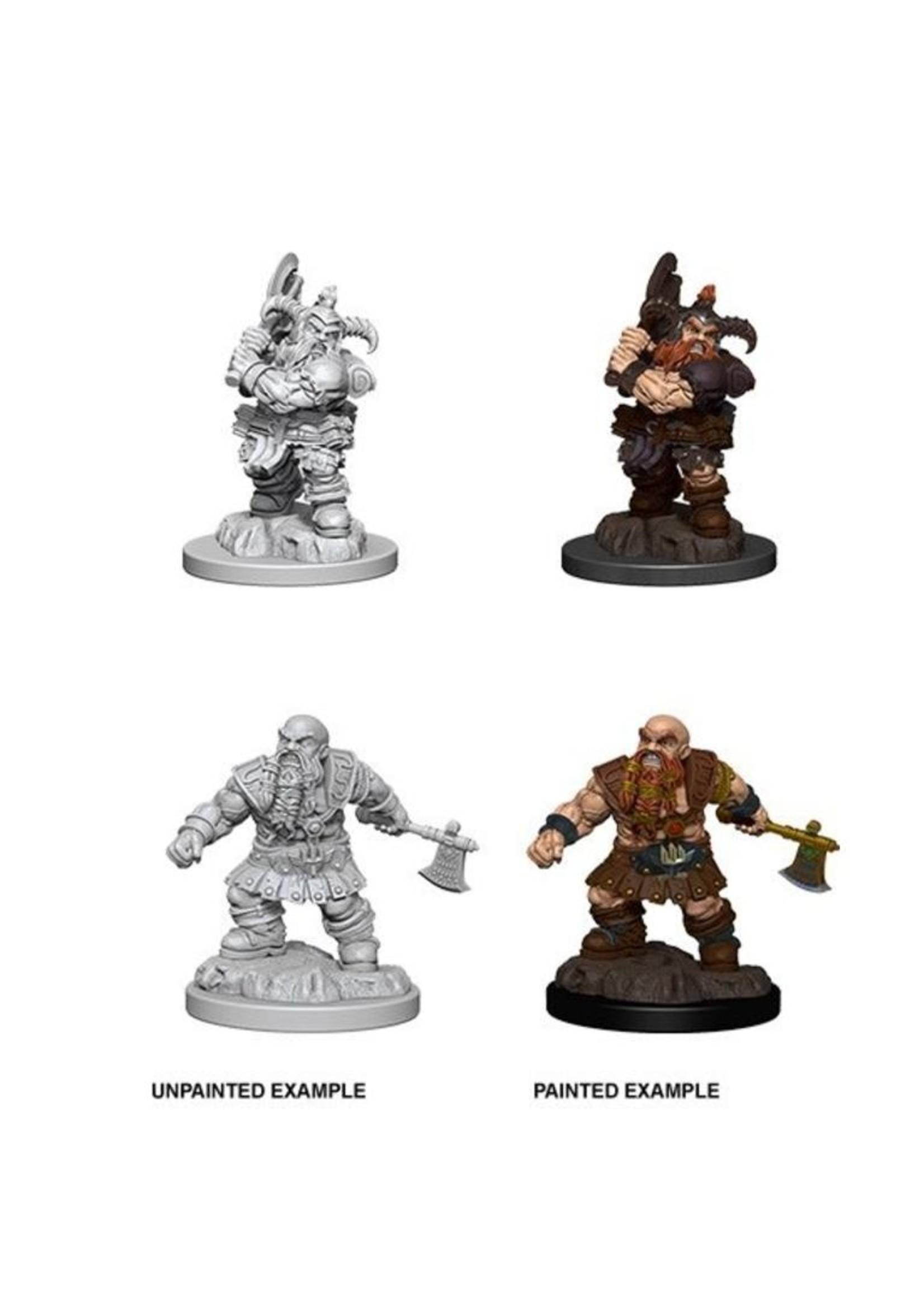Neca D&D Nolzur's Marvelous Miniatures - Dwarf Barbarian