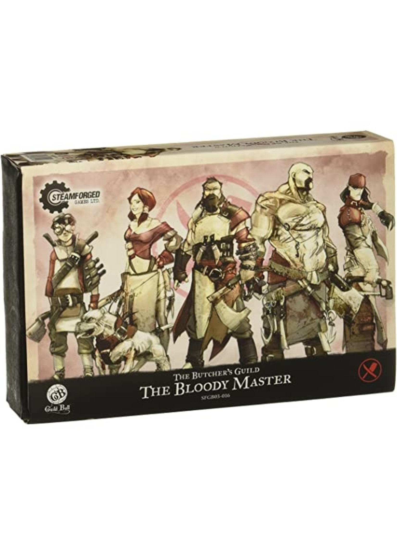 Steamforged Games Guild Ball The Bloody Master