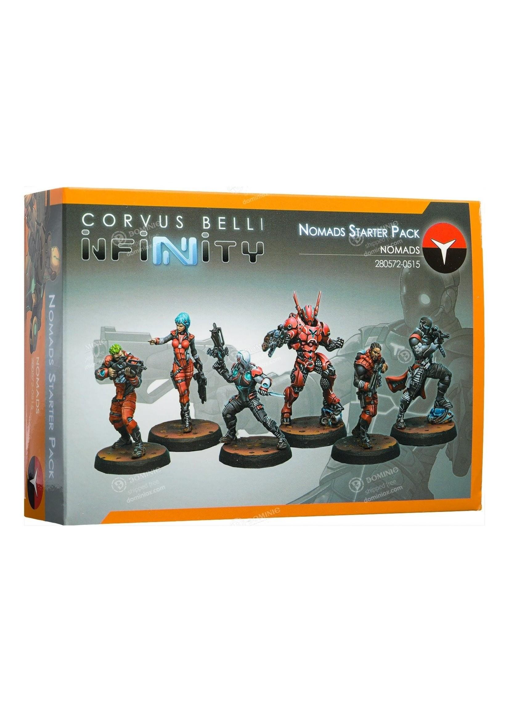 Corvus Belli Corvus Belli Infinity Nomads Starter Pack