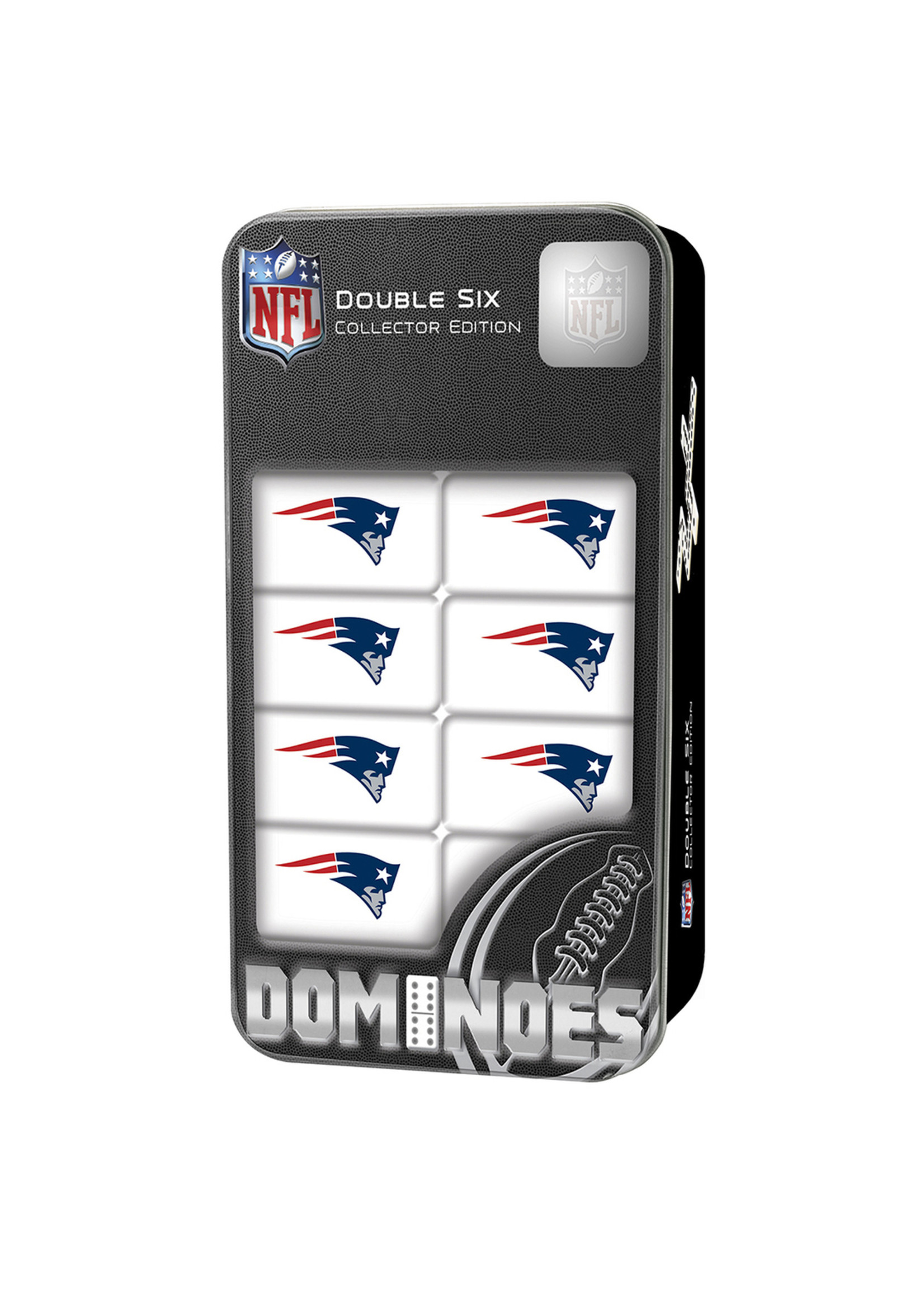 New England Patriots Dominoes Set