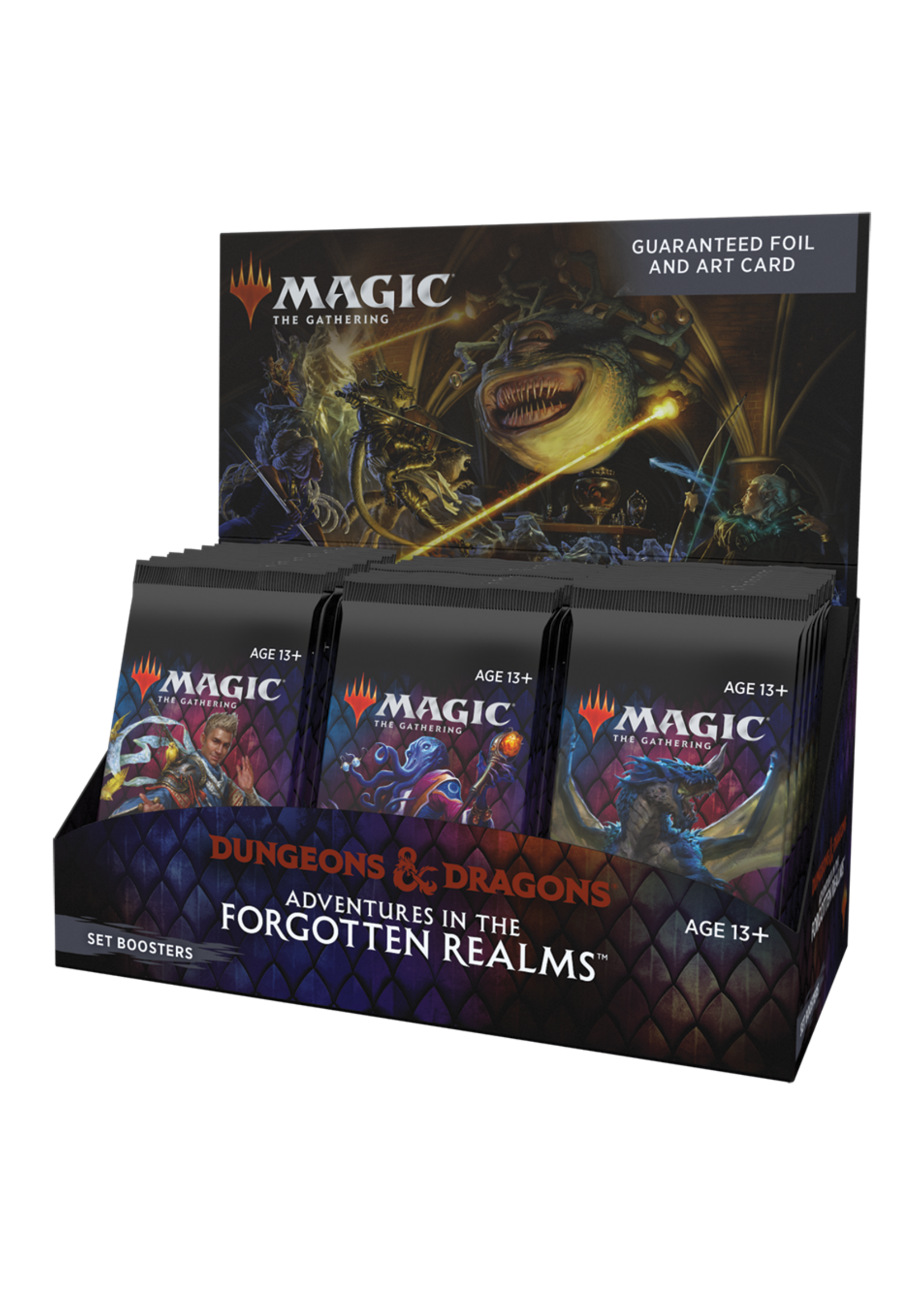 Wizards of the Coast MTG Adv Forgotten Realms Set Booster