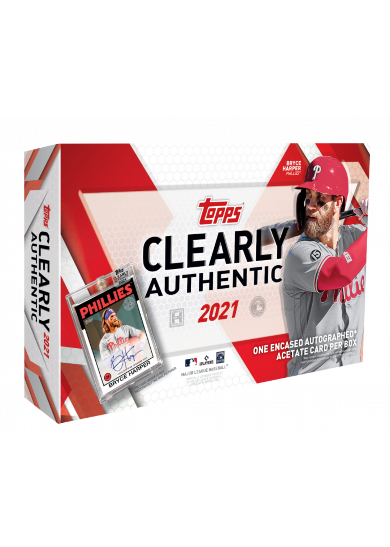 Topps 2021 Topps Clearly Authentic Baseball