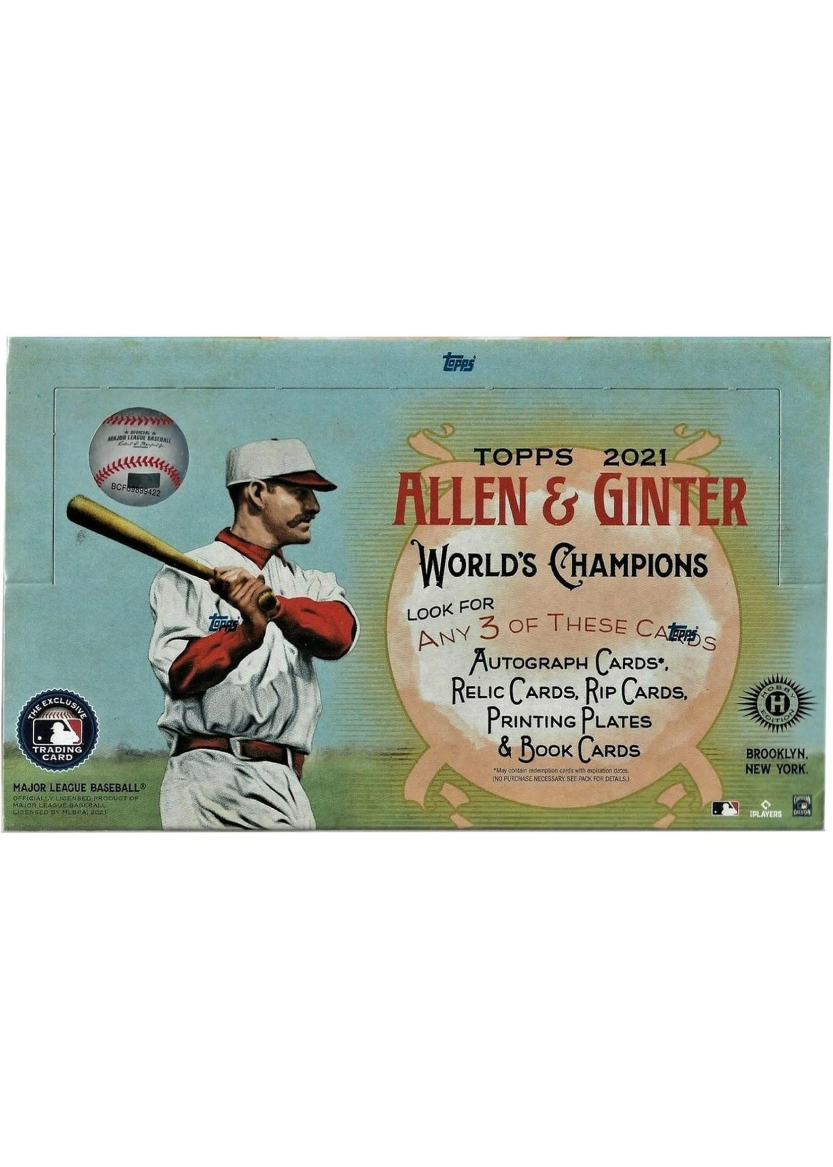 Topps 2021 Topps Allen & Ginter Baseball