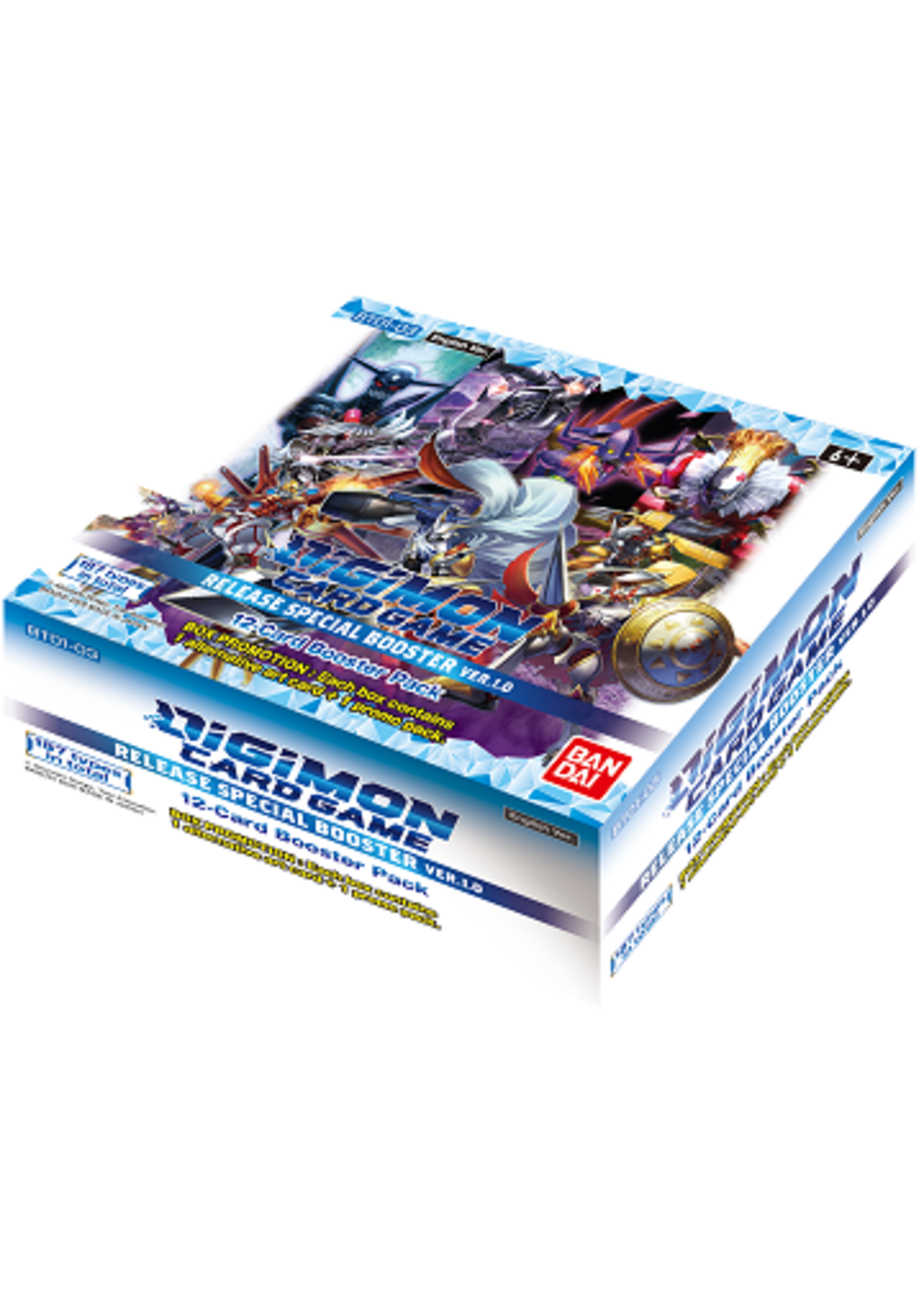 Bandai Digimon Card Game Special Release Booster Box 1.0