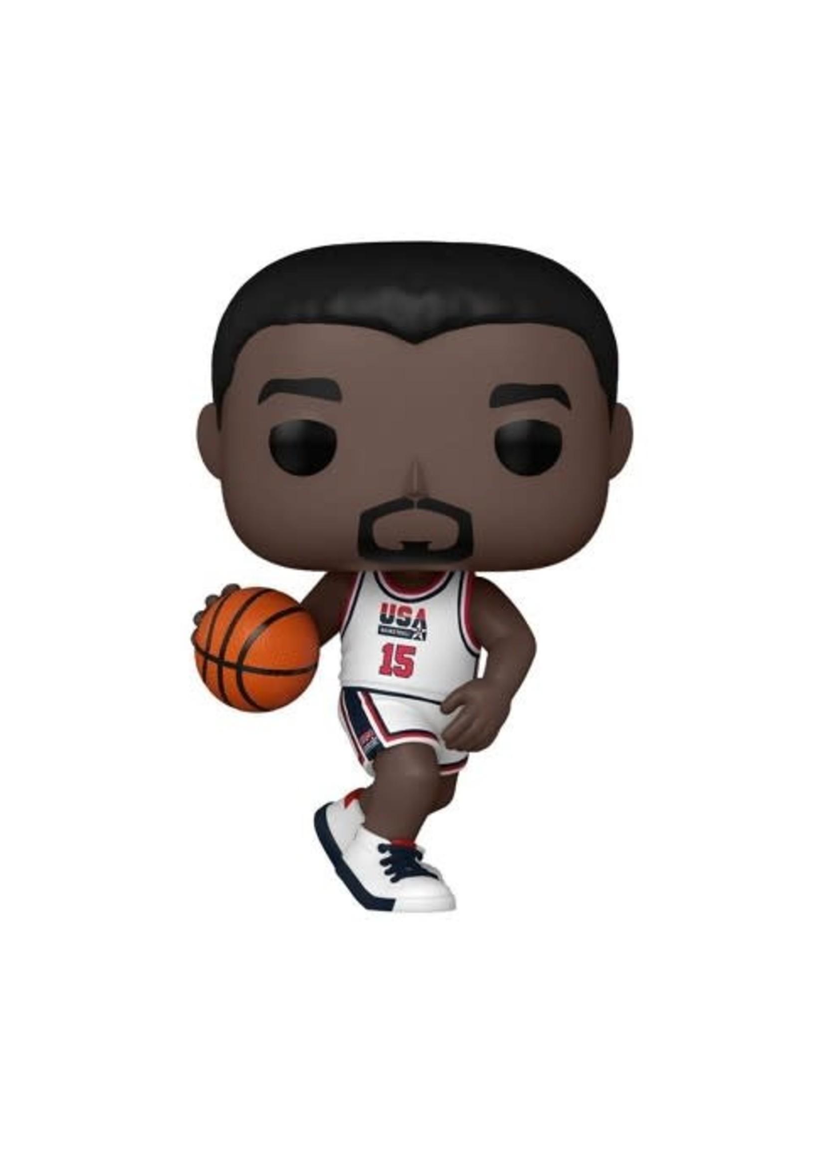 Pop NBA Legends Magic Johnson 1992 Team USA White