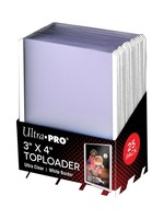 Ultra Pro Toploader 3X4 Rookie White