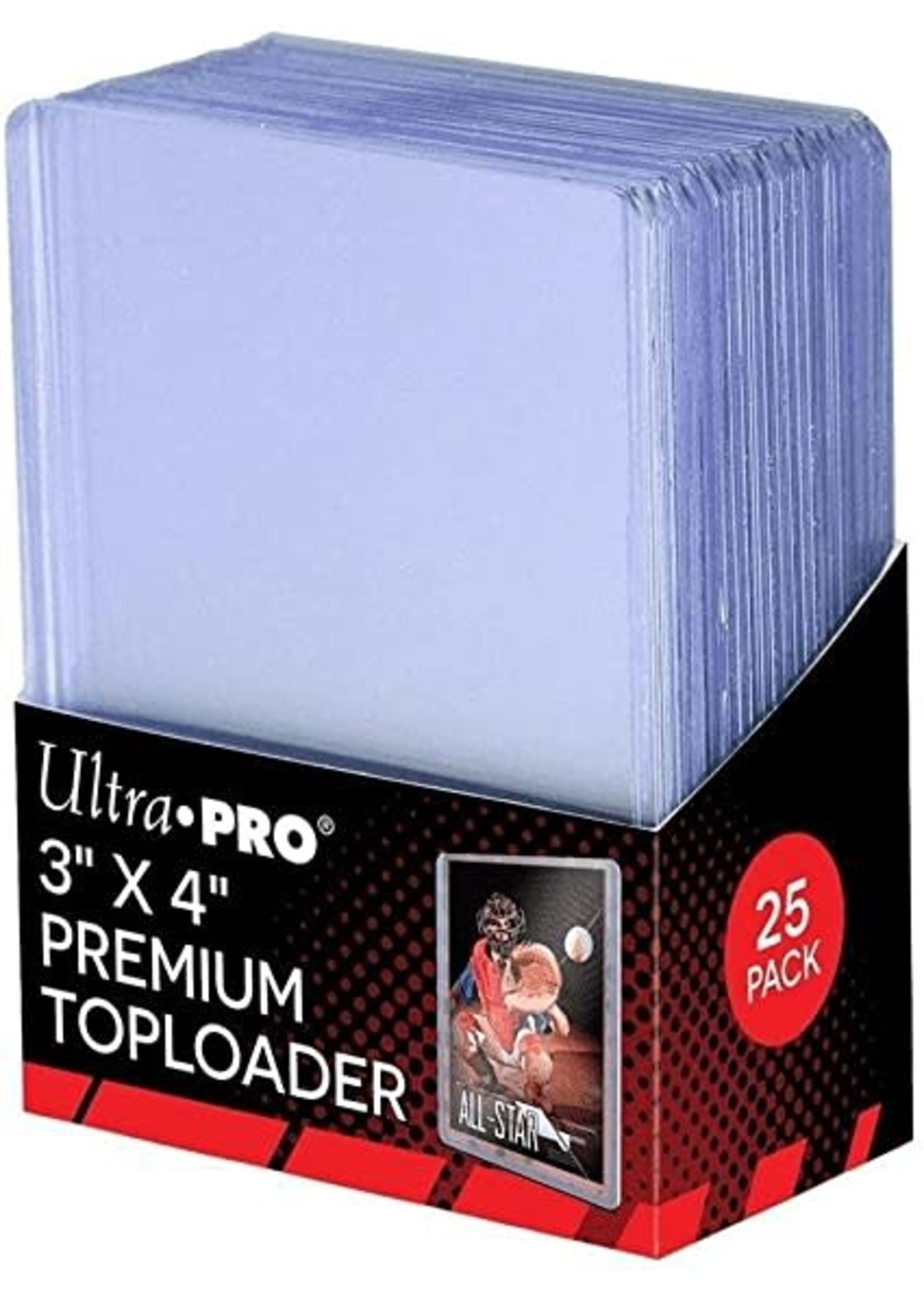 "Ultra Pro 3""x4"" Premium Toploader"