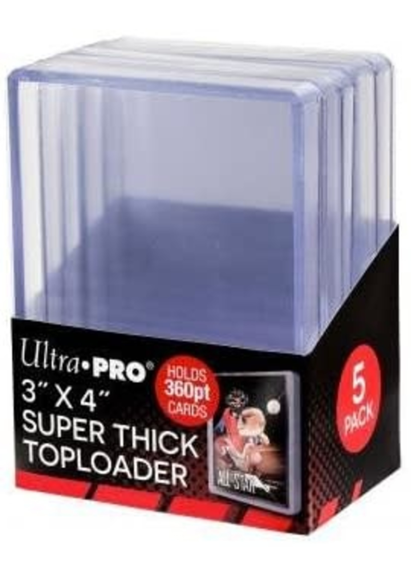 Ultra Pro Toploader 3x4 360Pt Thick
