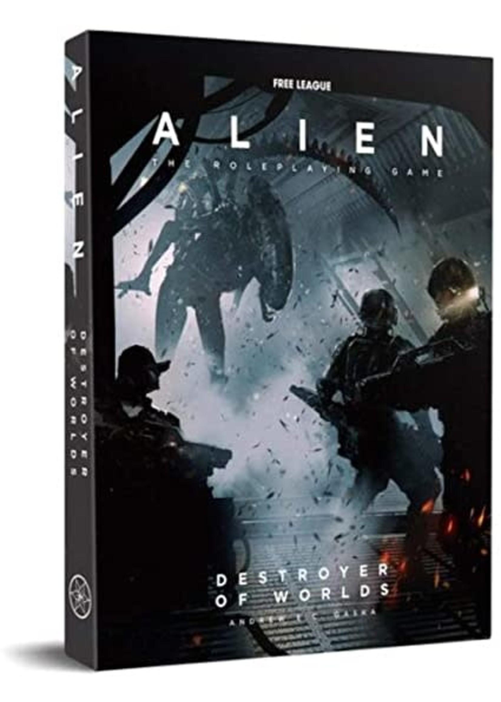Alien RPG Destroyer Of Worlds Boxed Adventure