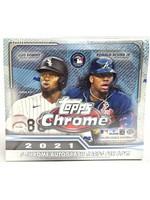 Topps 2021 Topps Chrome Baseball Jumbo