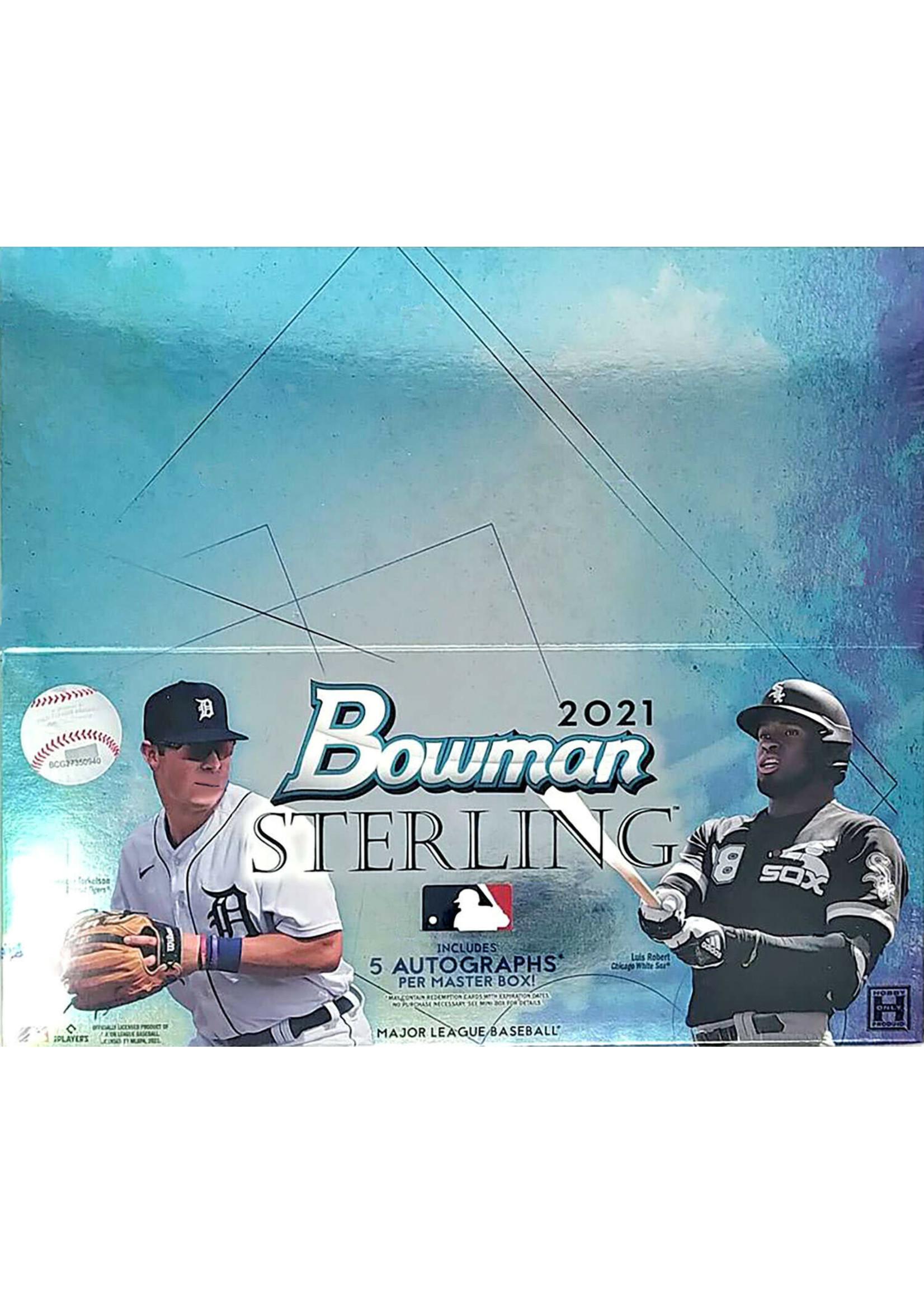 Topps 2021 Topps Bowman Sterling Baseball