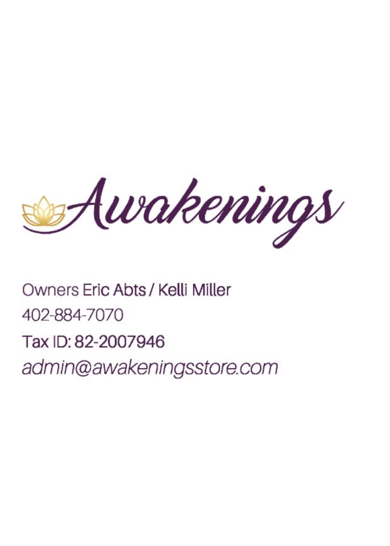 Awakenings Tax ID Business Card - Box of 500