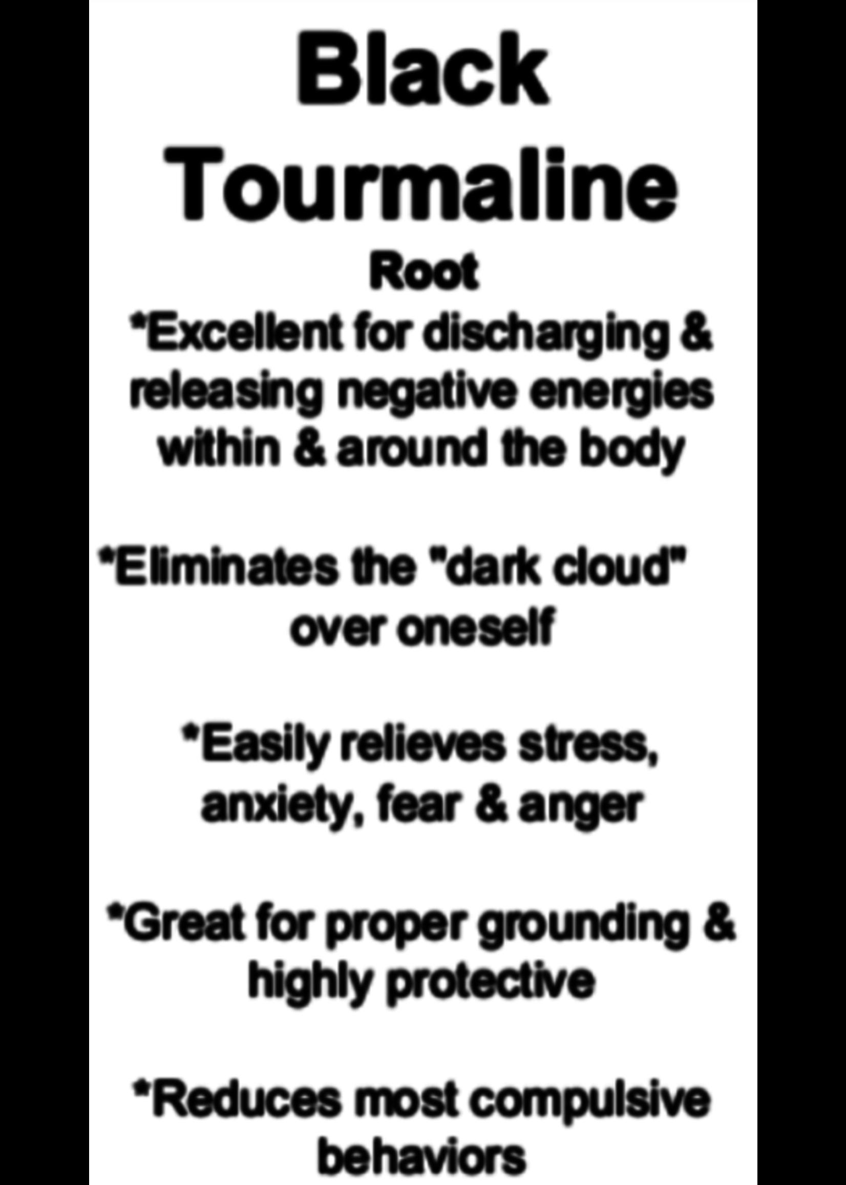 Black Tourmaline Cards - Box of 250