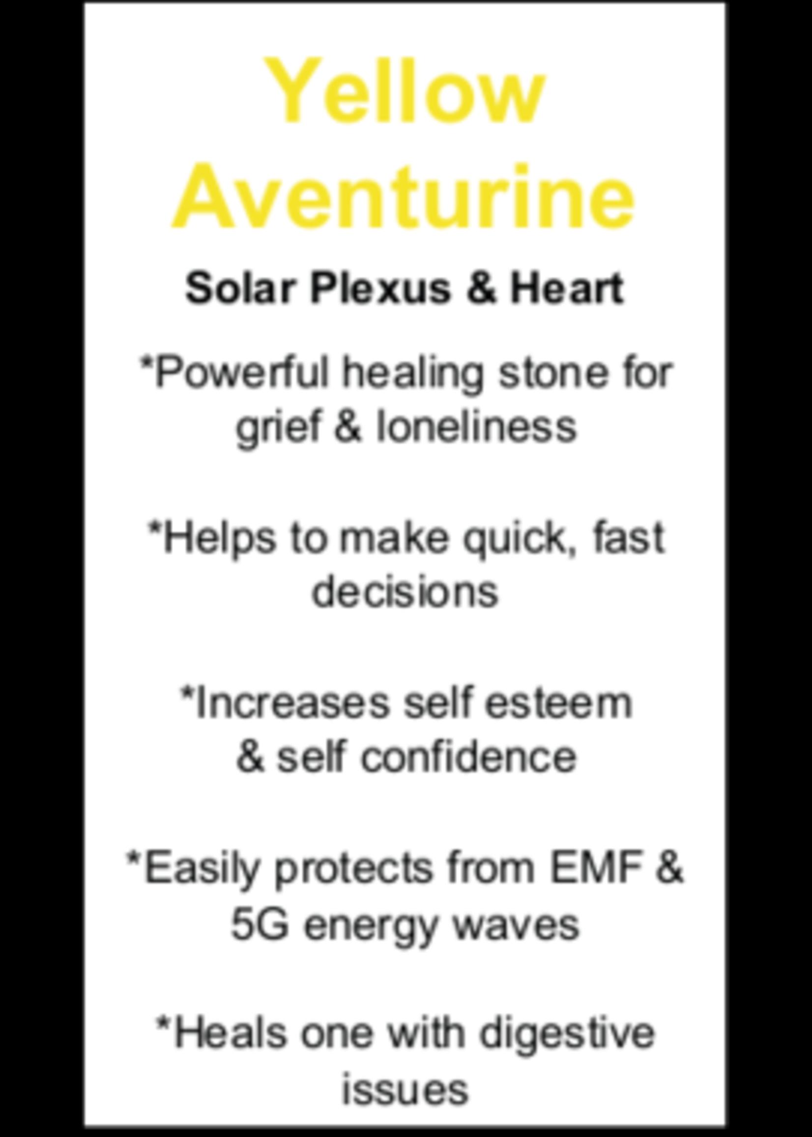 Yellow Aventurine Cards - Box of 250
