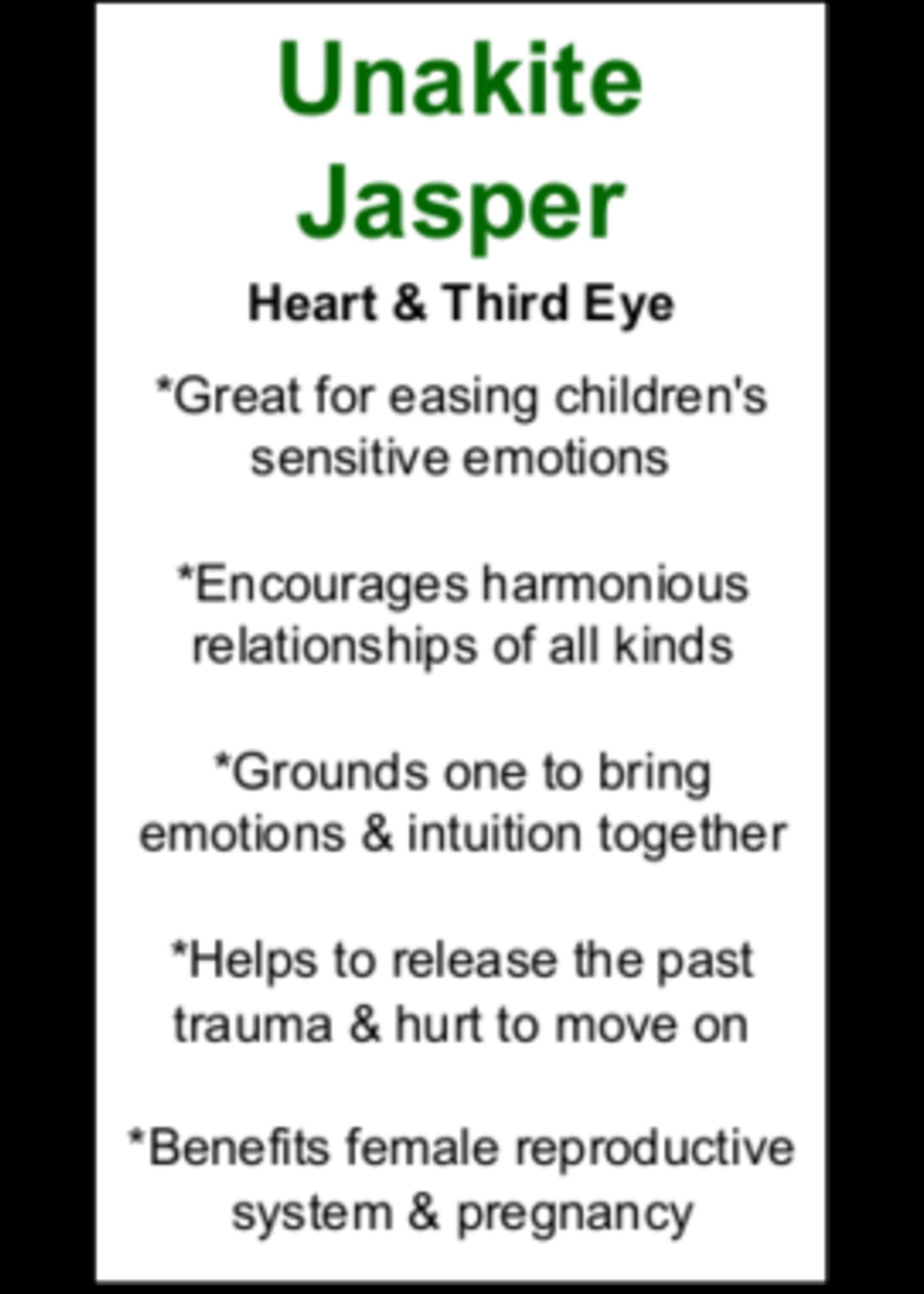 Unakite Jasper Cards - Box of 250