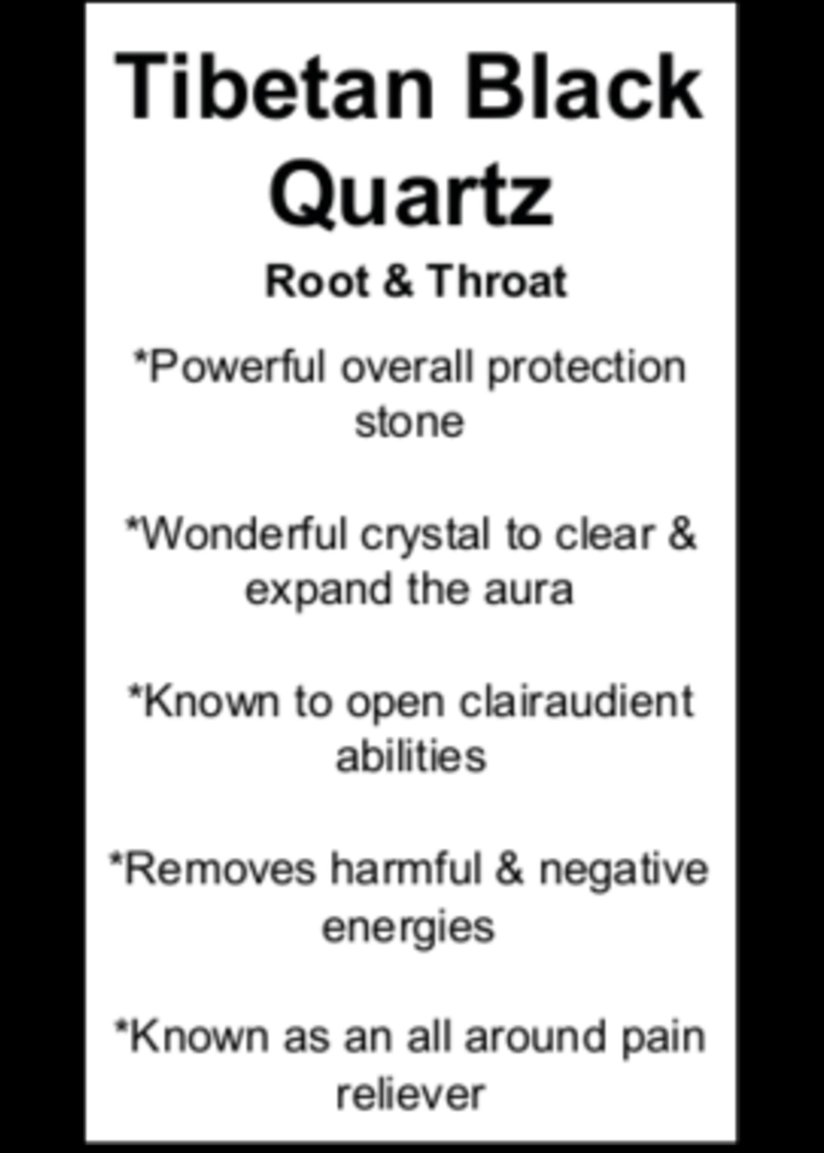 Tibetan Black Quartz Cards - Box of 250