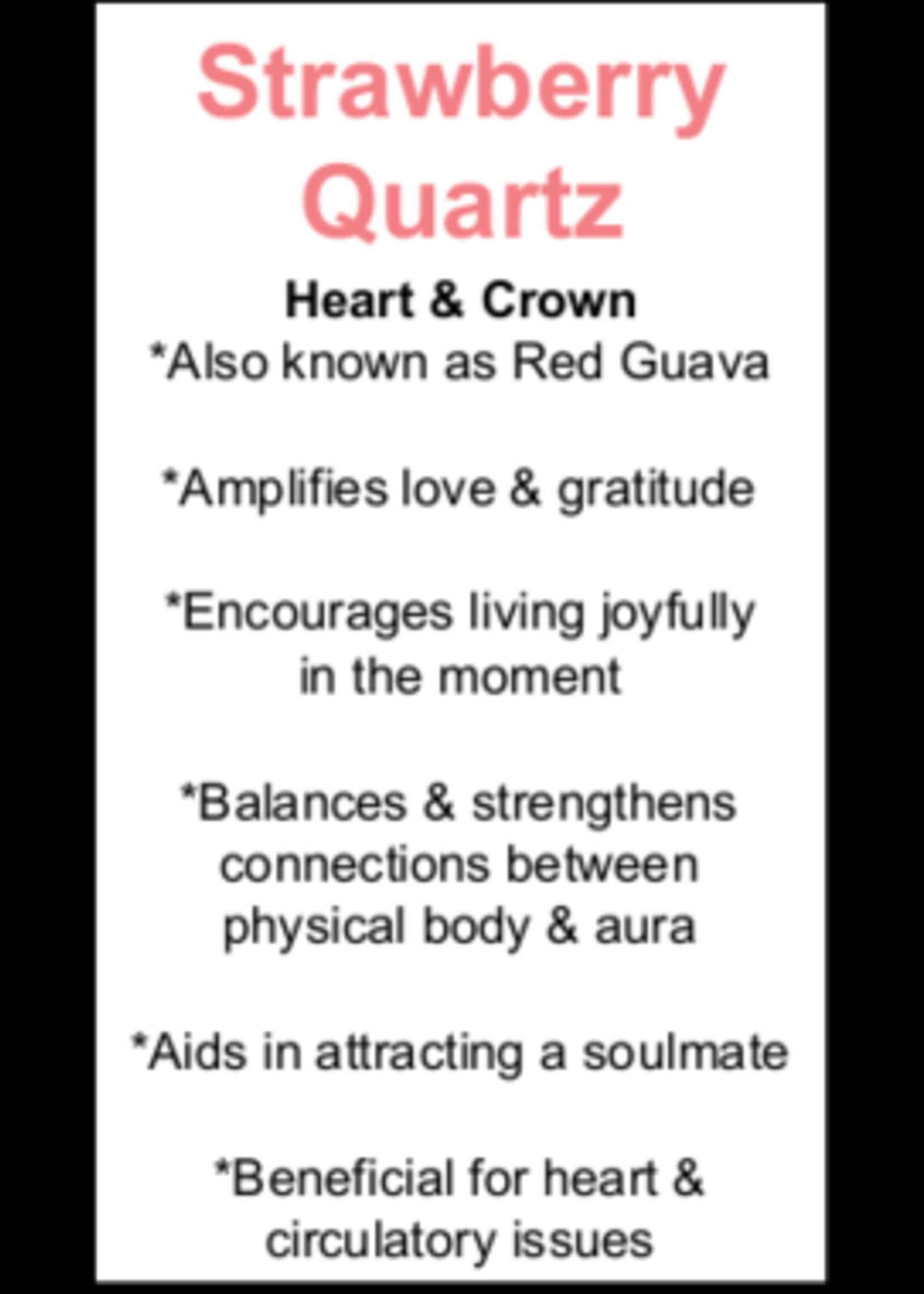 Strawberry Quartz Cards - Box of 250