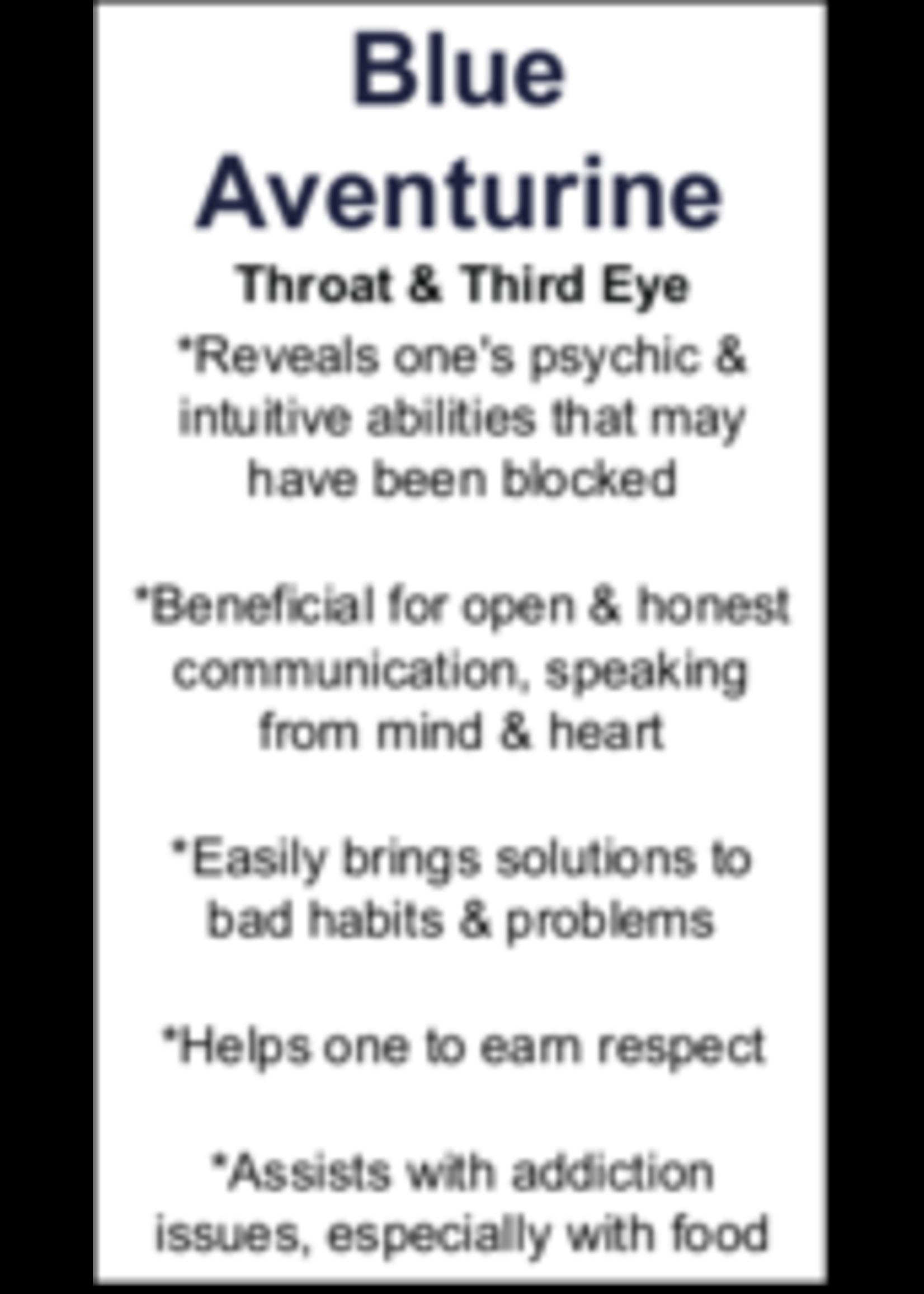 Blue Aventurine Cards - Box of 250