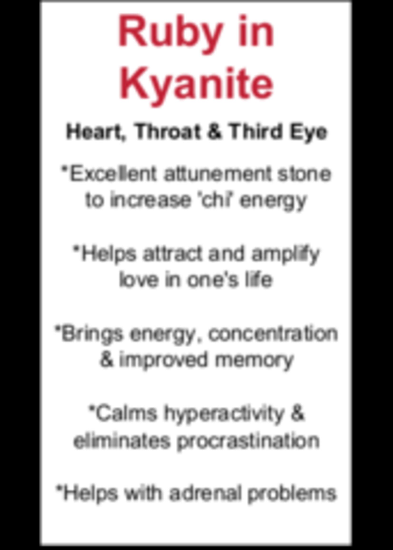 Ruby in Kyanite Cards - Box of 250
