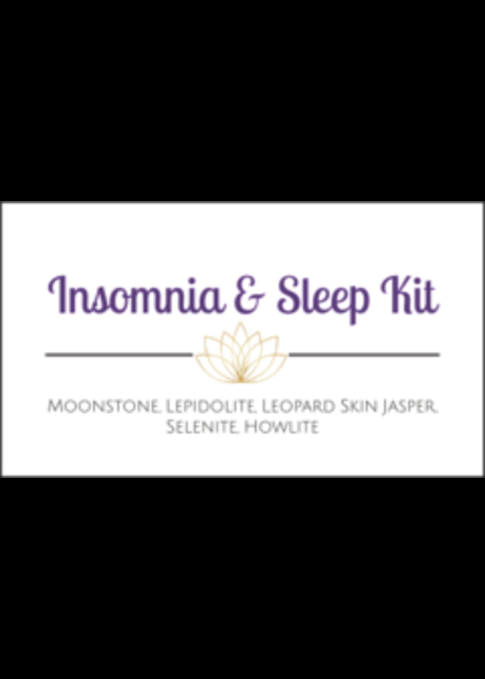 Insomnia & Sleep Crystal Kit Cards - Box of 100