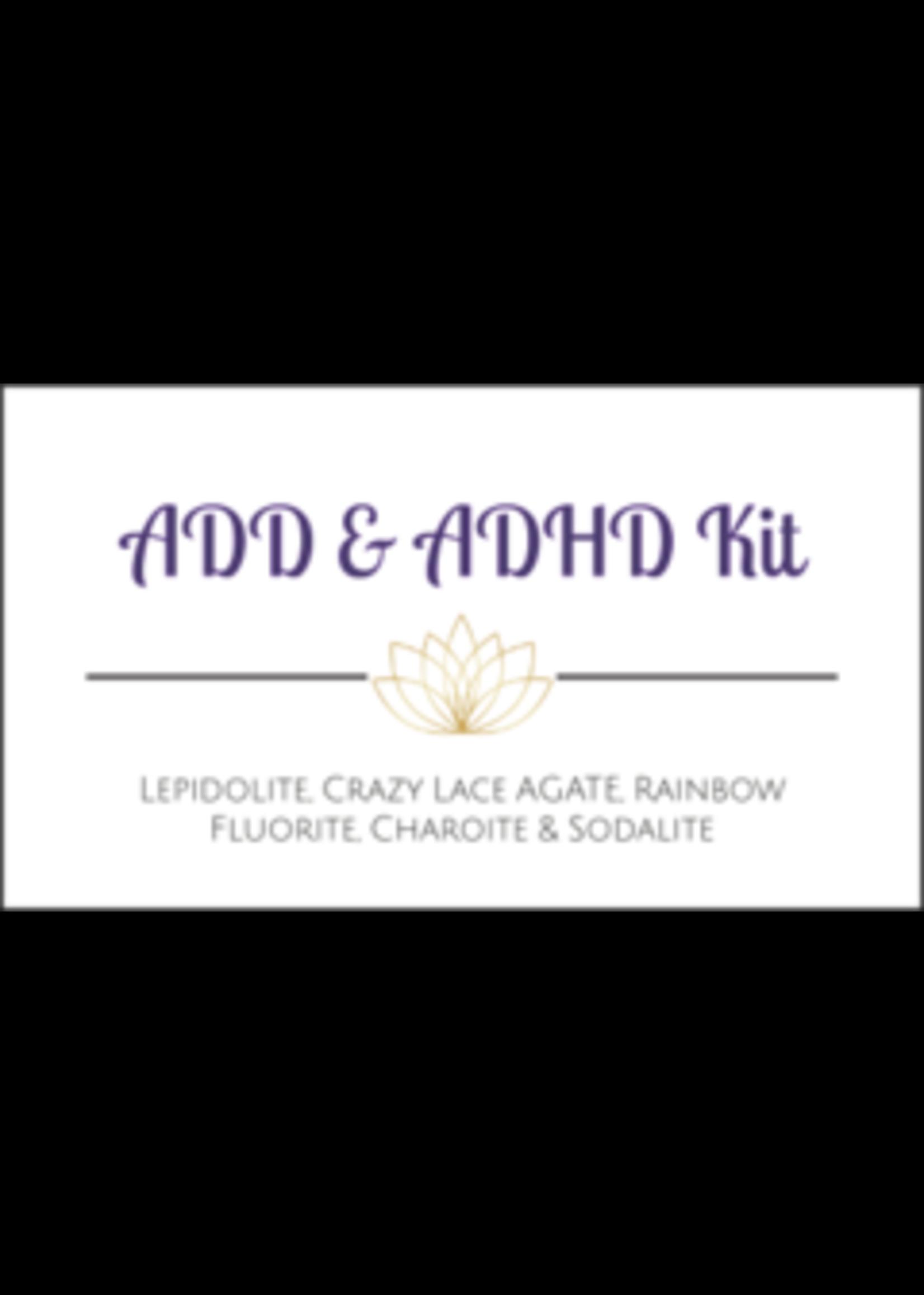 ADD & ADHD Crystal Kit Cards - Box of 100