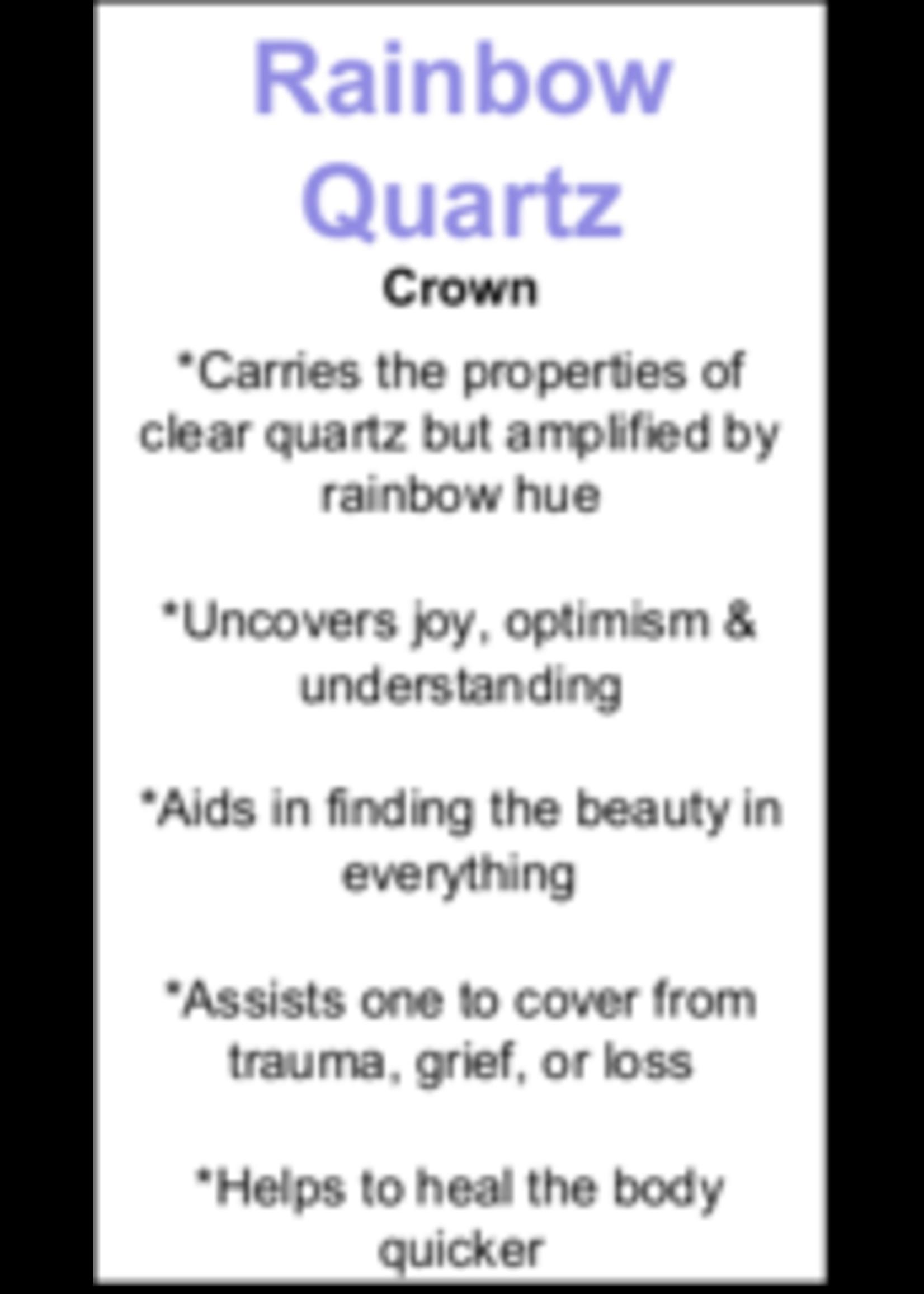 Rainbow Quartz Cards - Box of 250