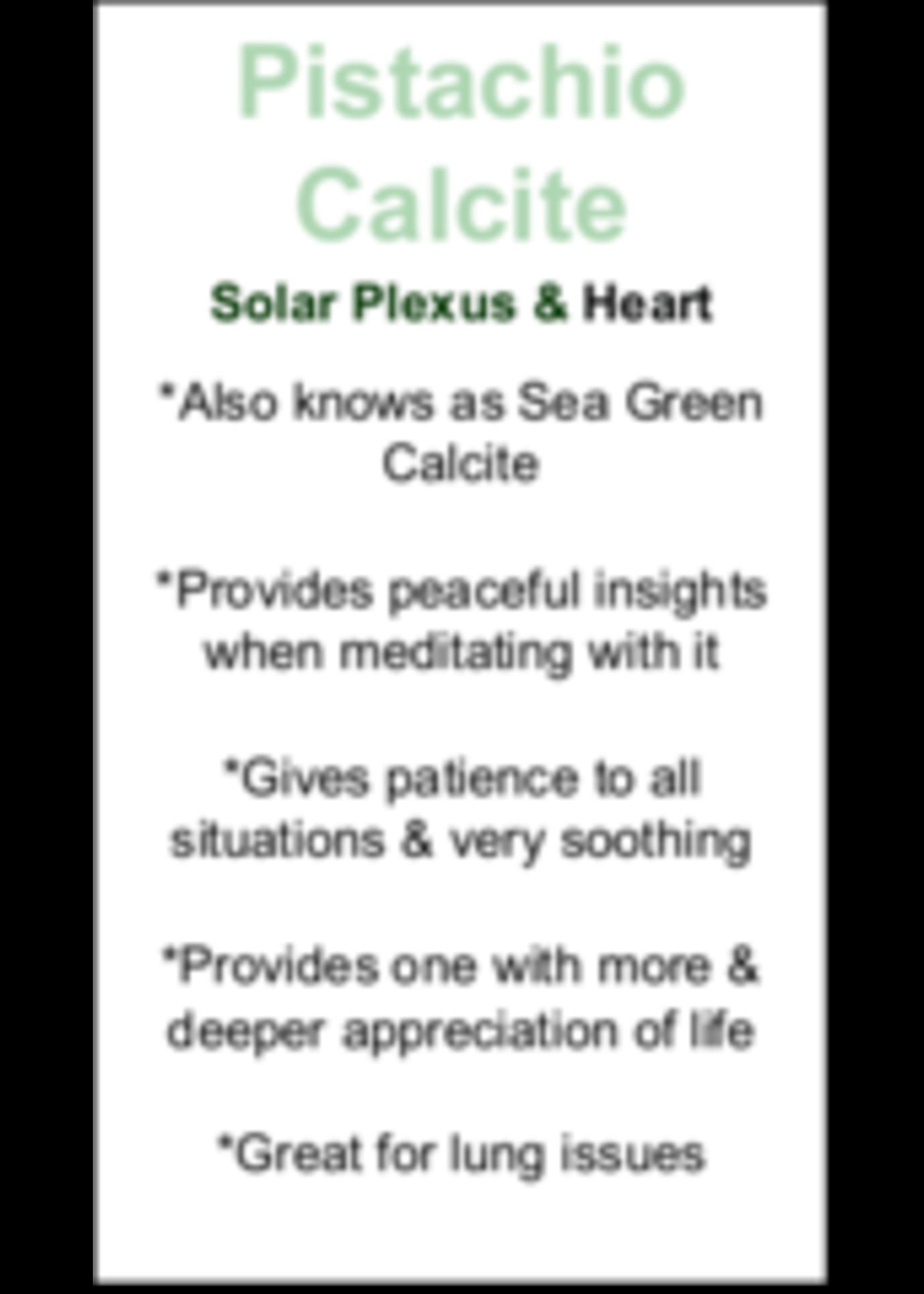 Pistachio Calcite Cards - Box of 250