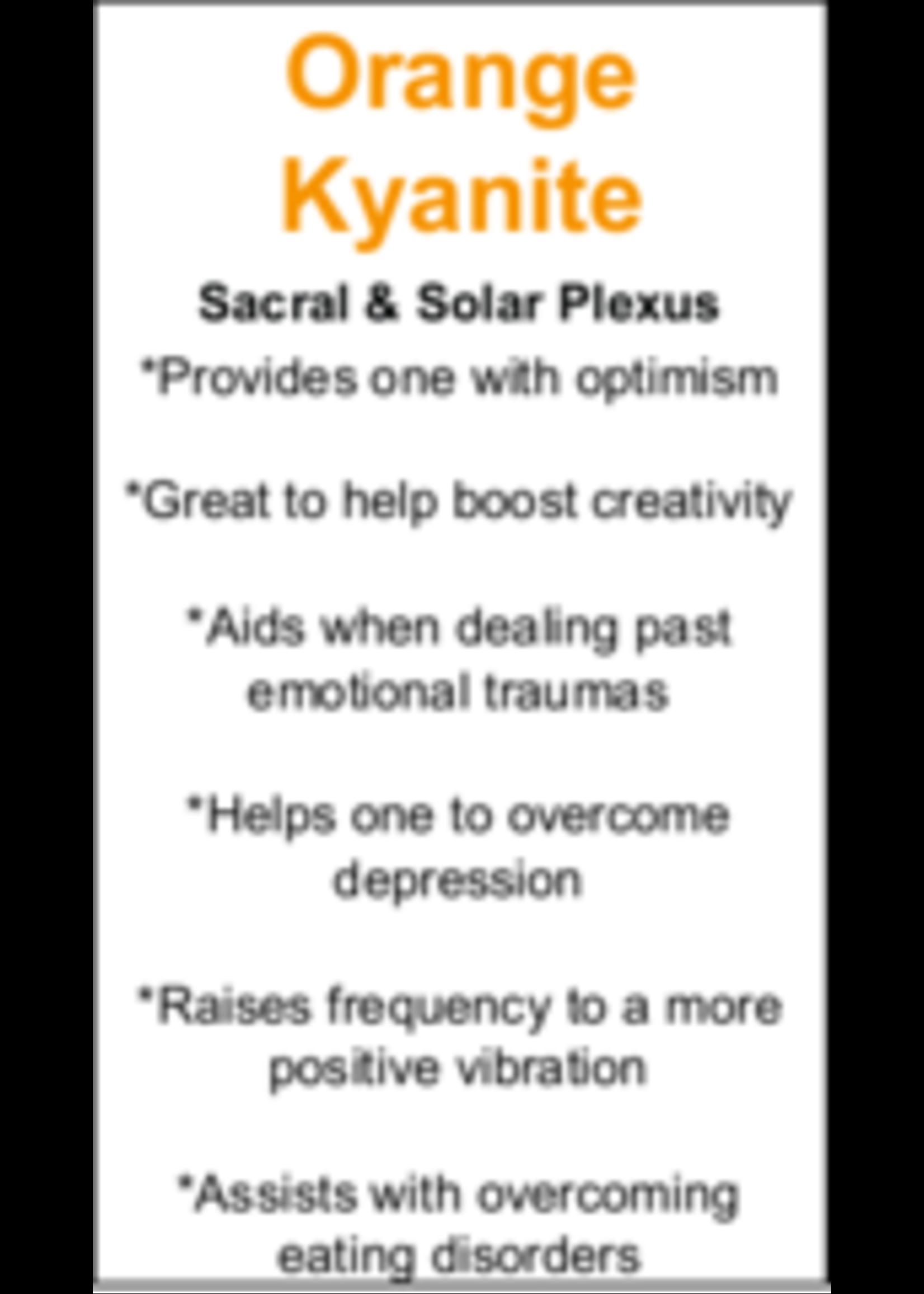 Orange Kyanite Cards - Box of 250