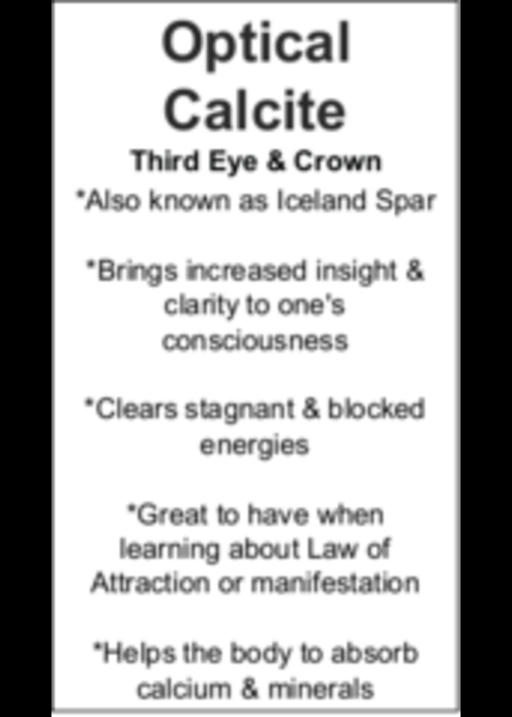 Optical Calcite Cards - Box of 250