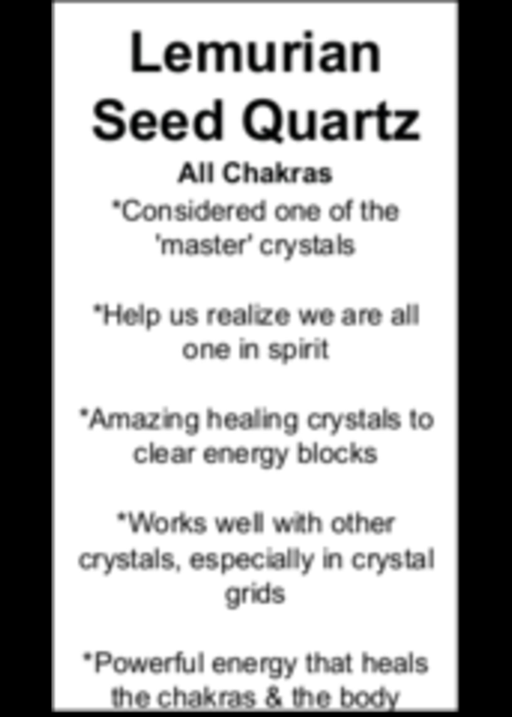 Lemurian Seed Quartz Cards - Box of 250