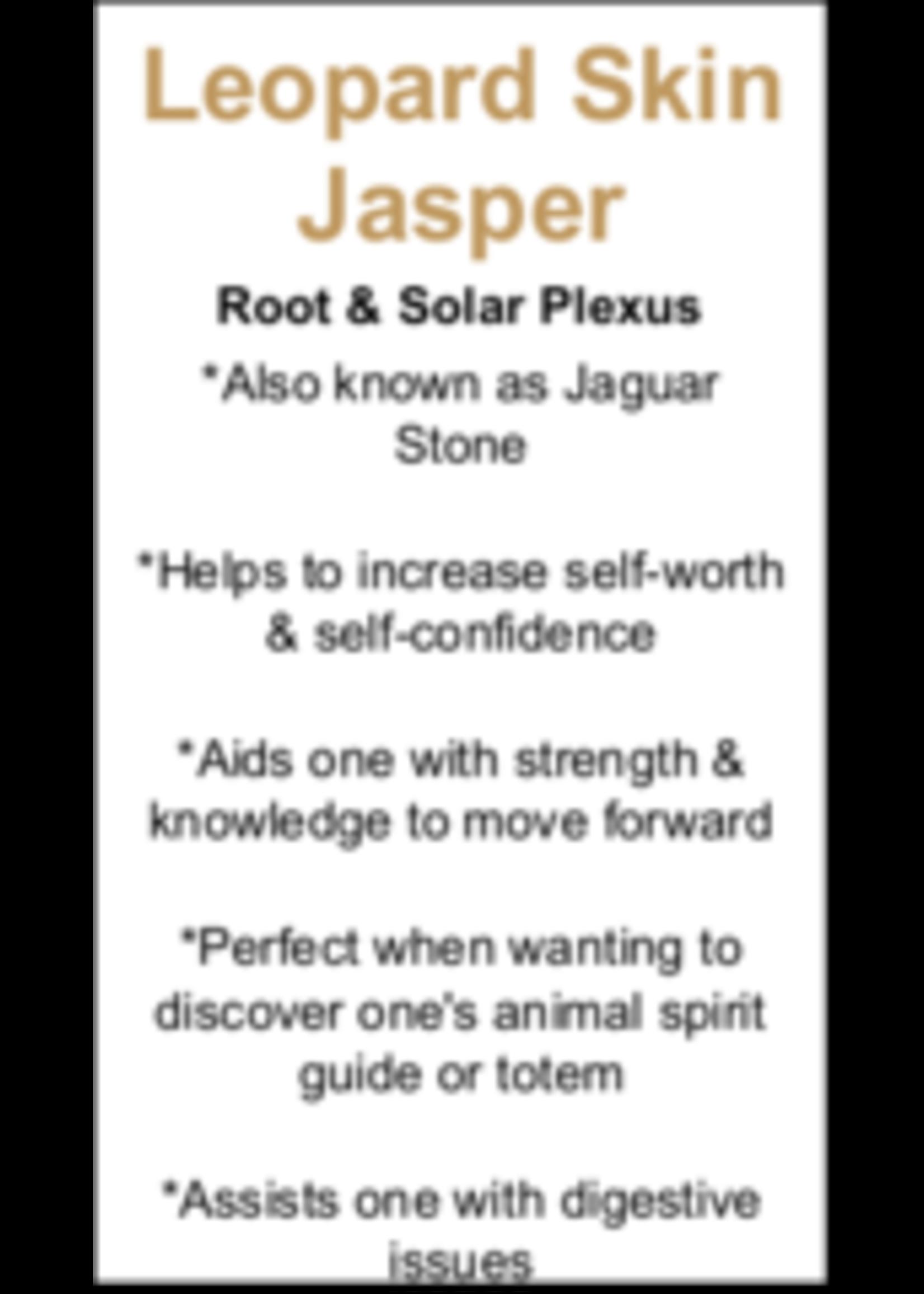 Leopard Skin Jasper Cards - Box of 250