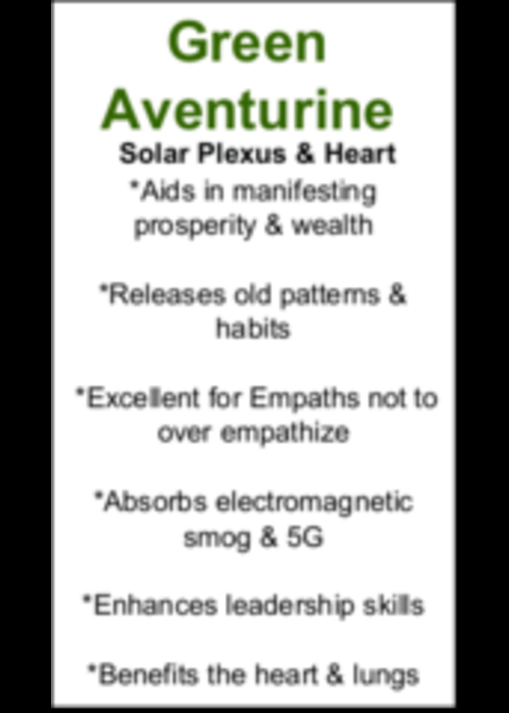 Green Aventurine Cards - Box of 250