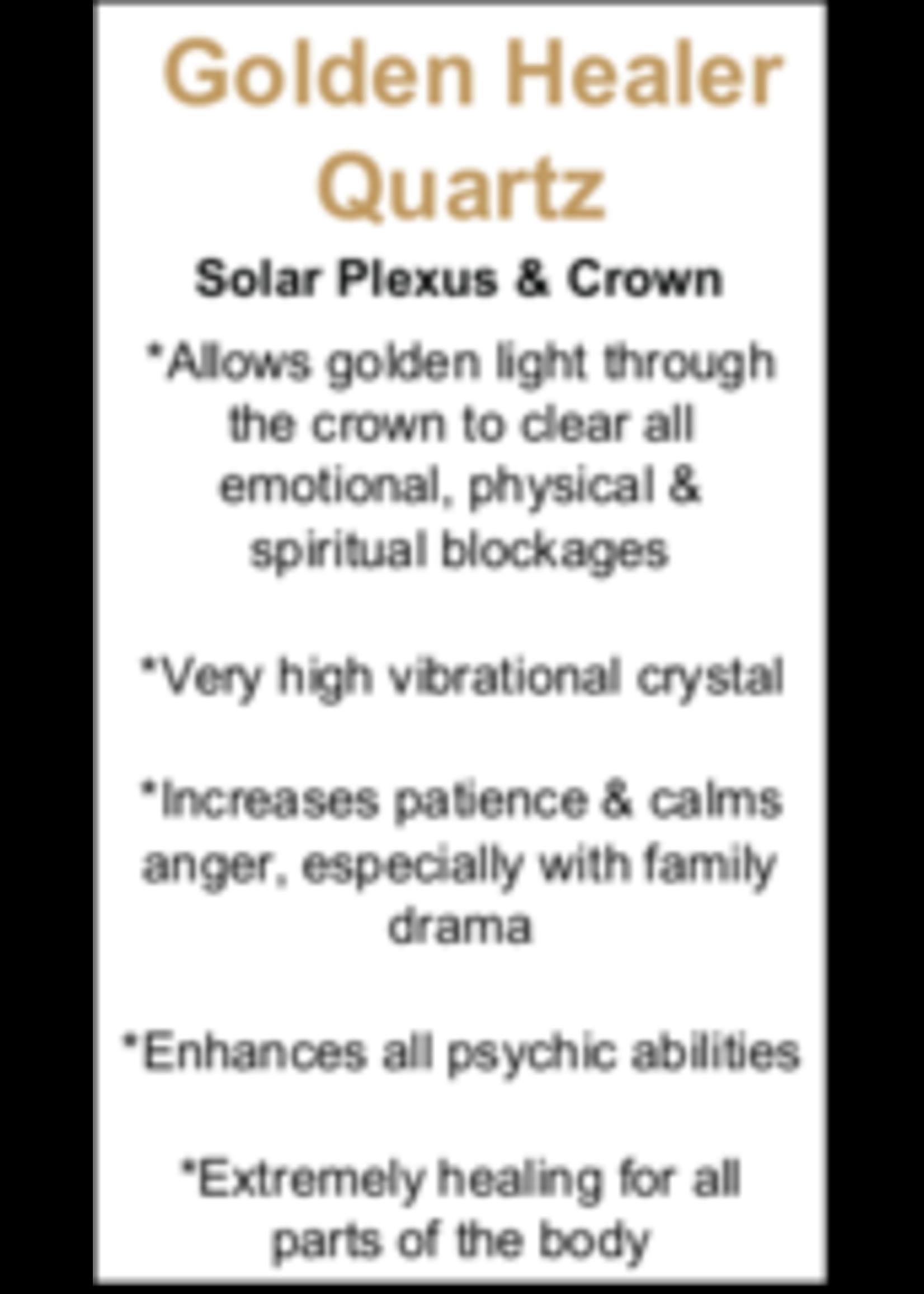 Golden Healer Quartz Cards - Box of 250