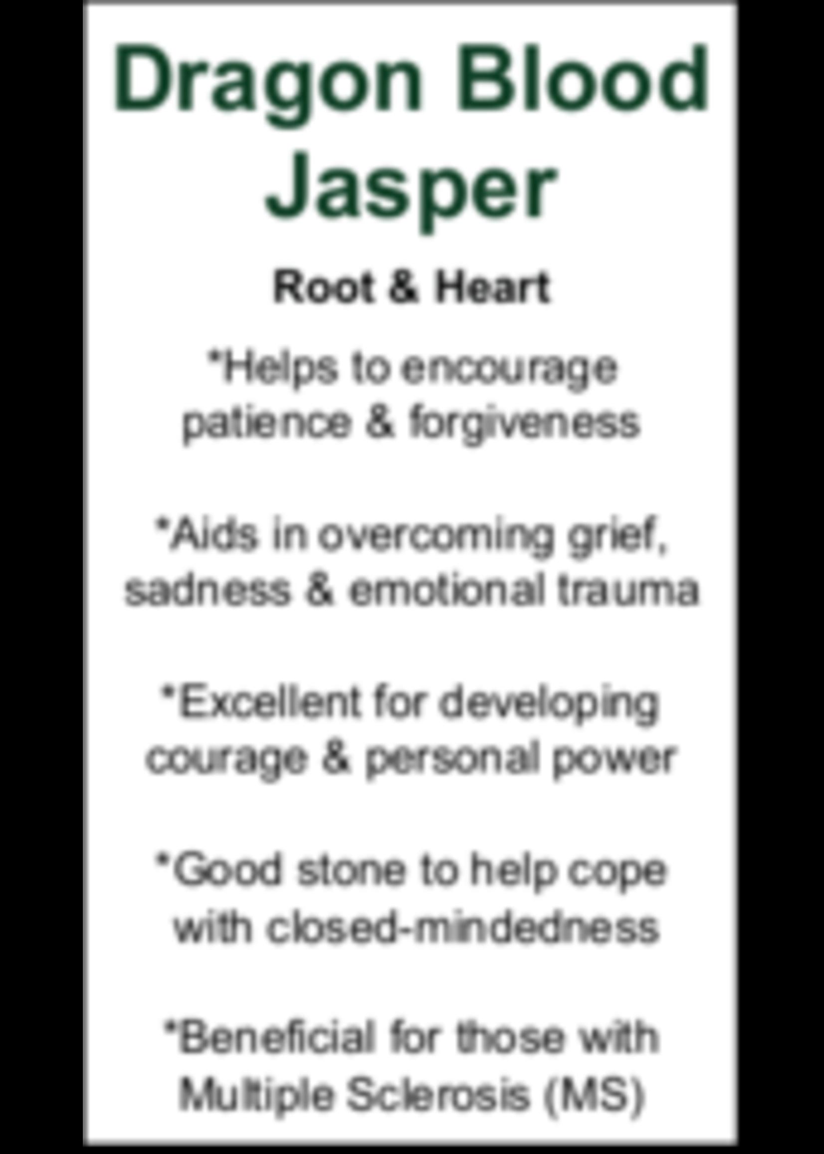 Dragon Blood Jasper Cards - Box of 250