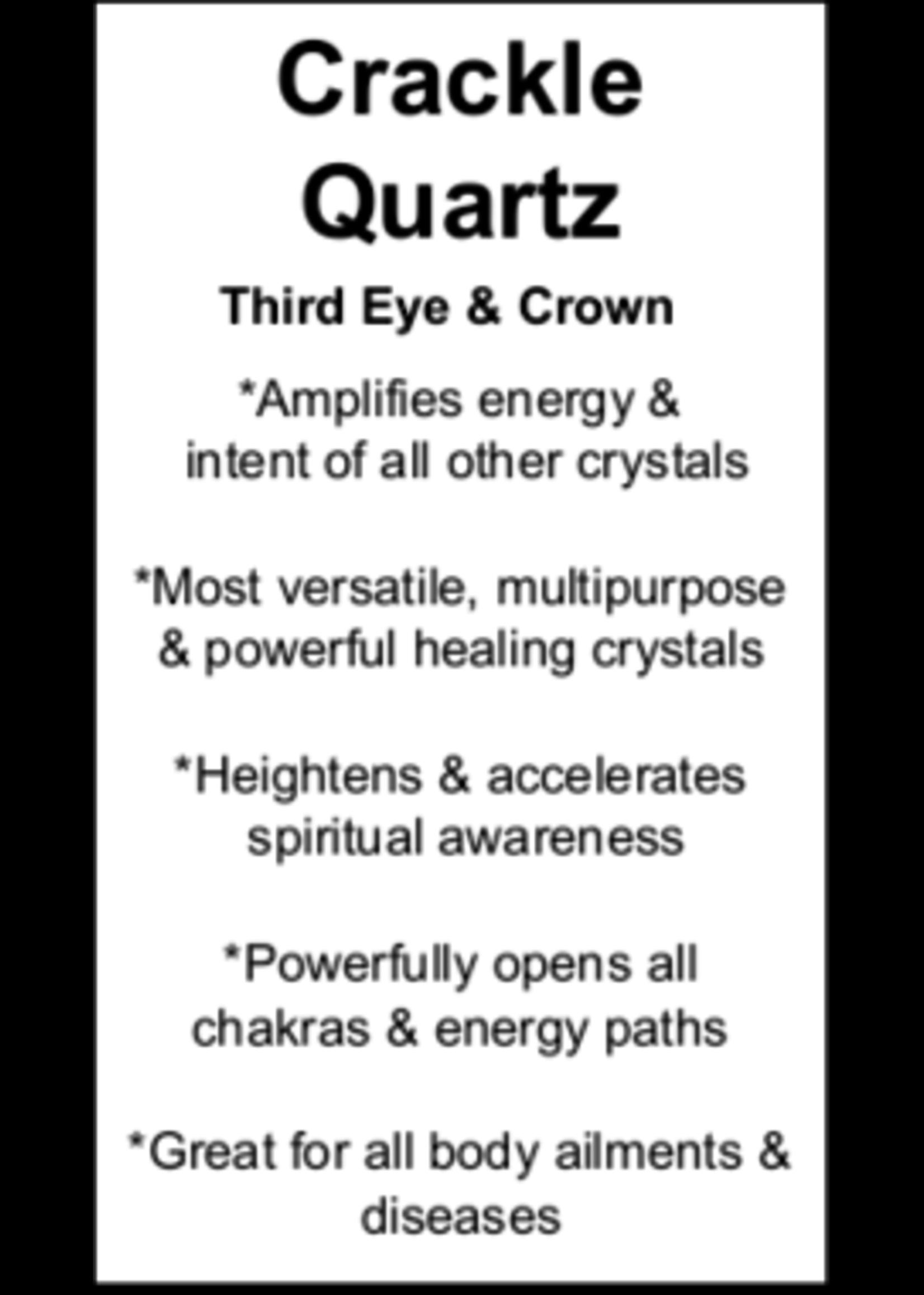 Crackle Quartz Cards - Box of 250