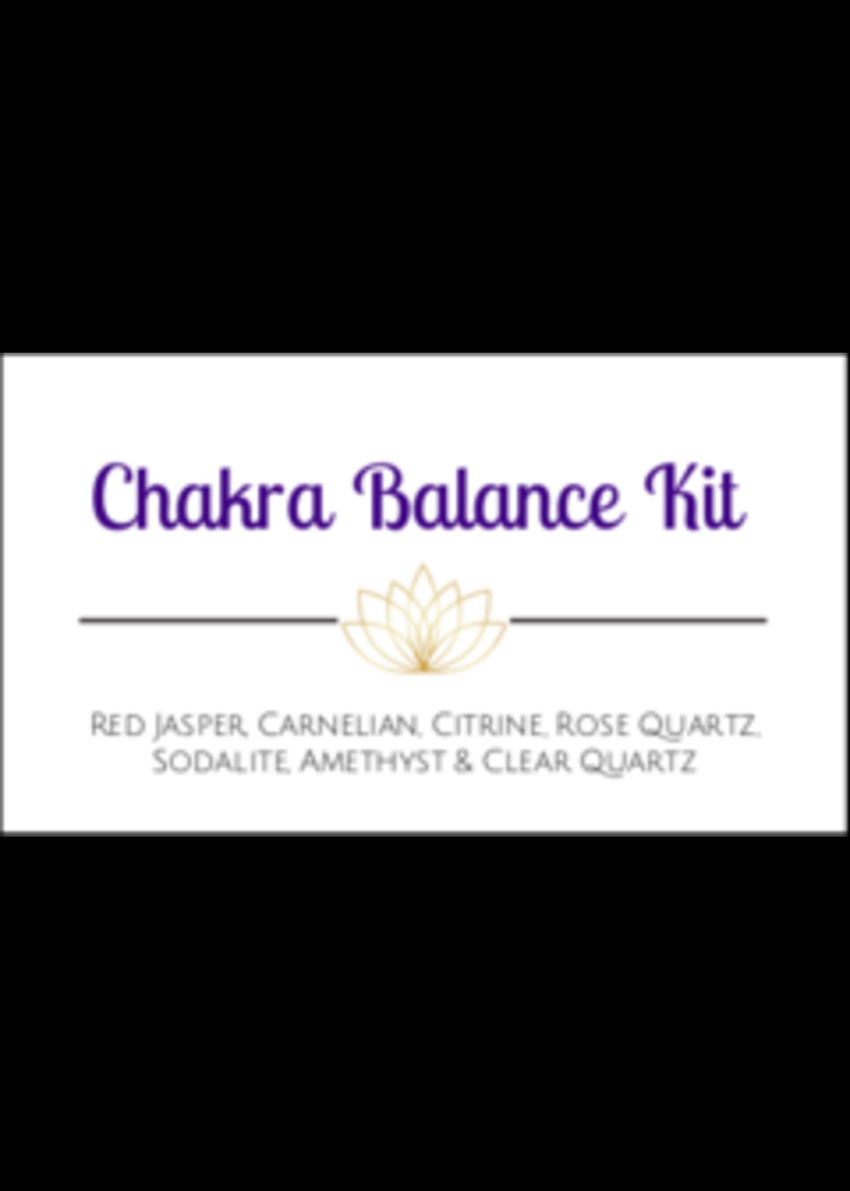Chakra Balance Crystal Kit Cards - Box of 100