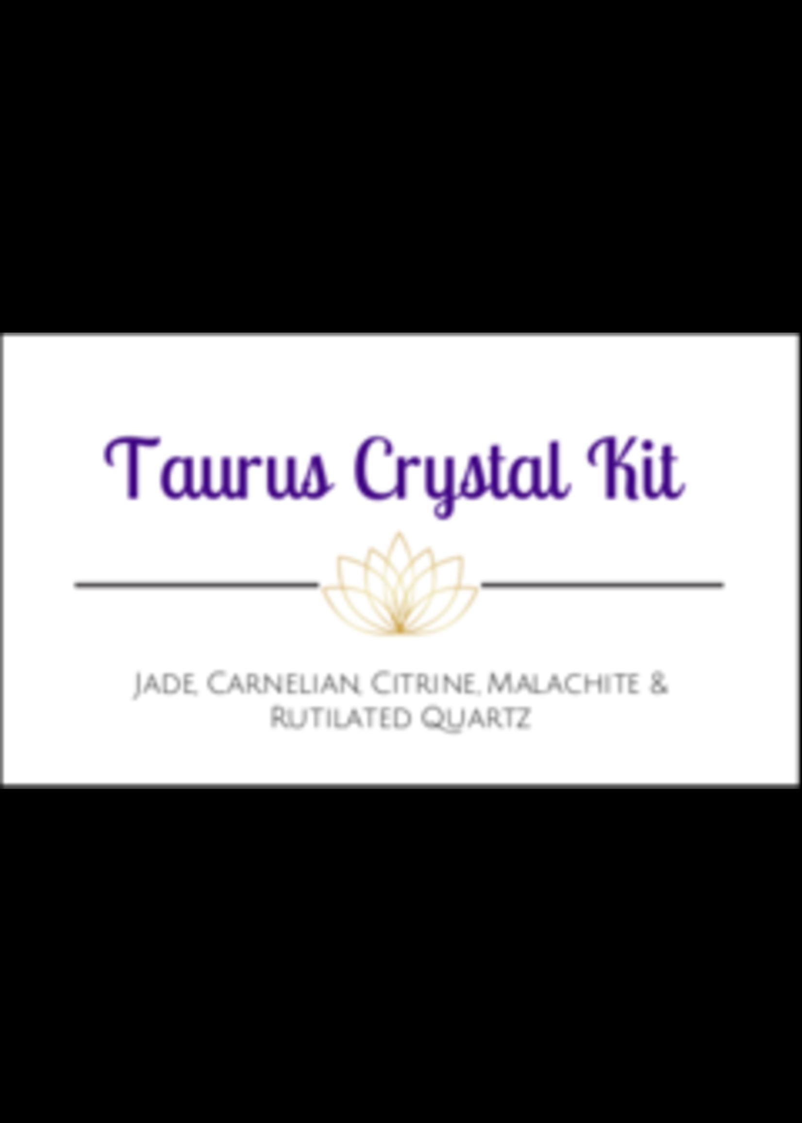 Taurus Zodiac Crystal Kit Cards - Box of 100