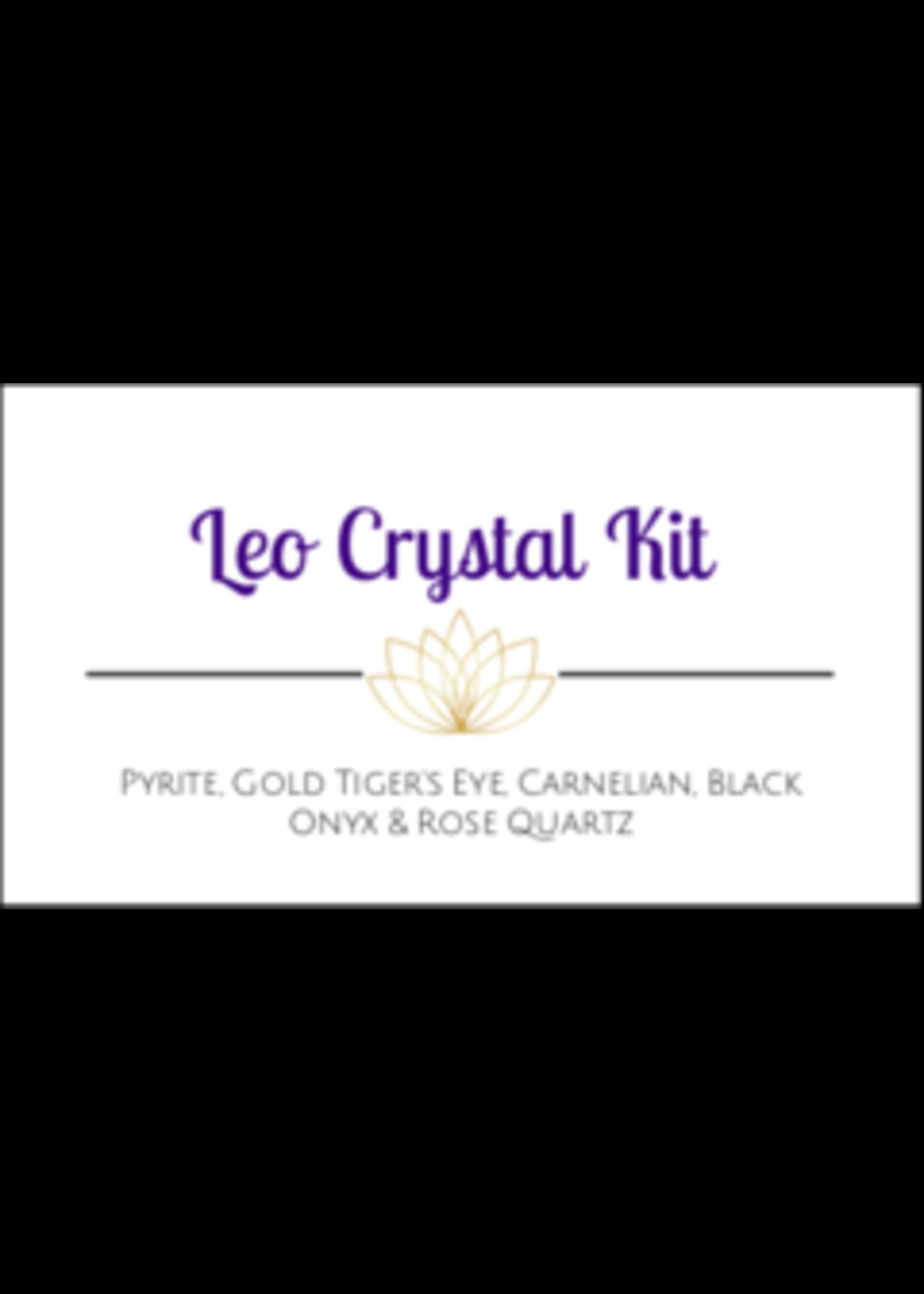 Leo Zodiac Crystal Kit Cards - Box of 100