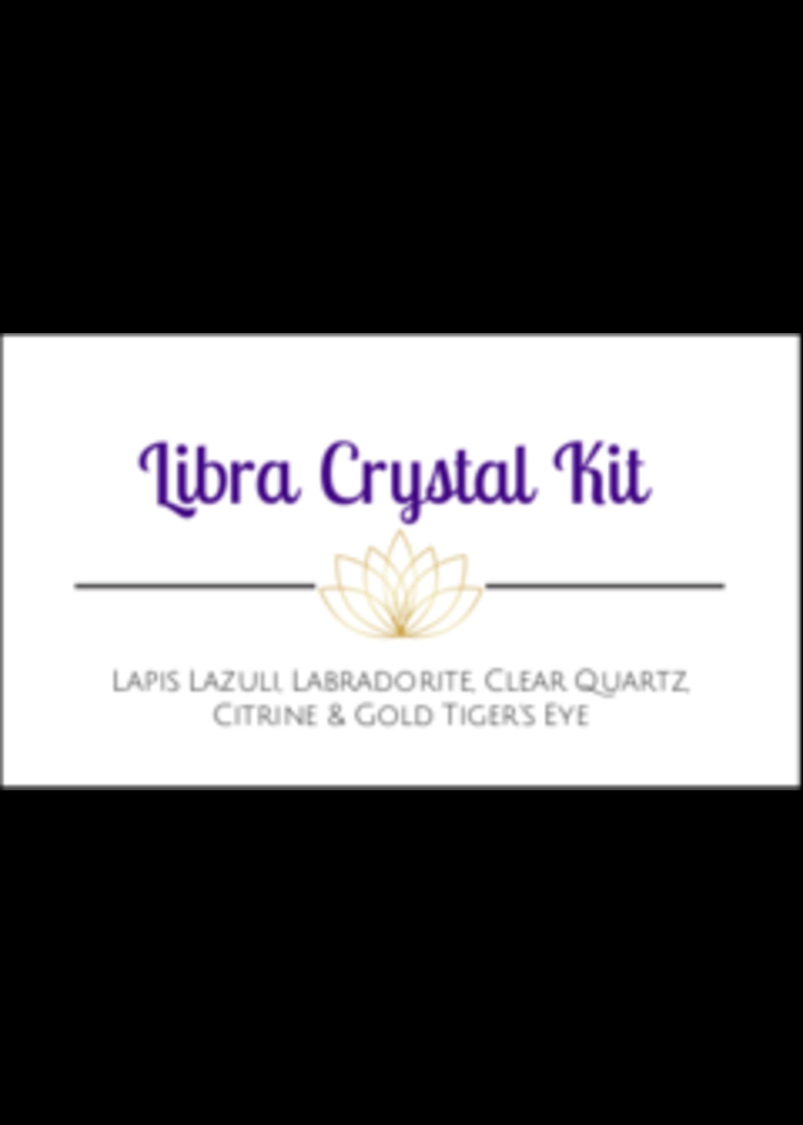 Libra Zodiac Crystal Kit Cards - Box of 100