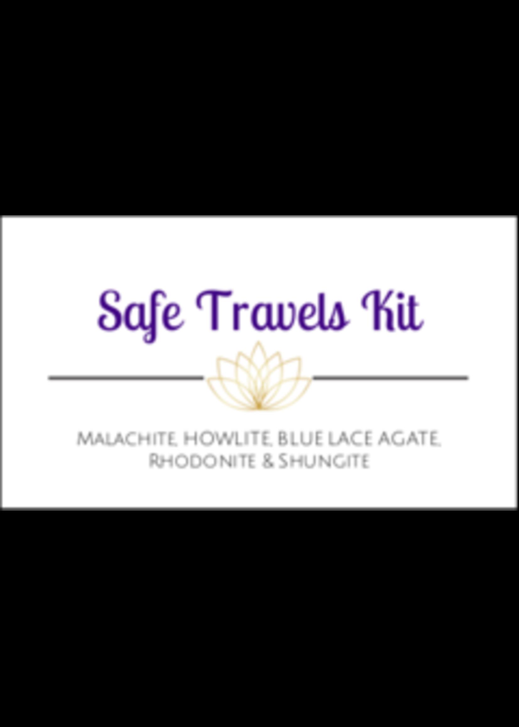 Safe Travels Crystal Kit Cards -Box of 100