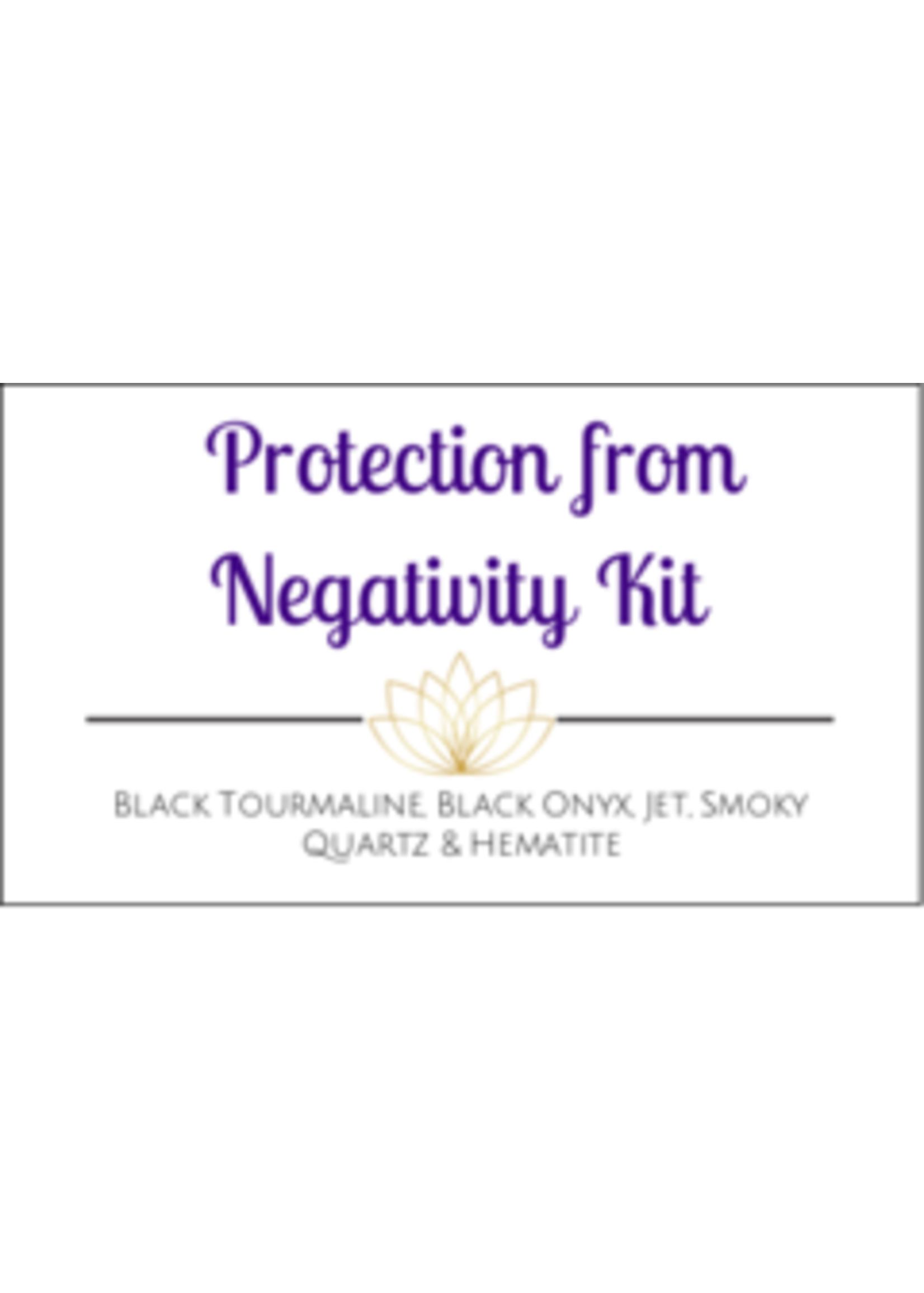 Protection from Negativity Crystal Kit - Box of 100
