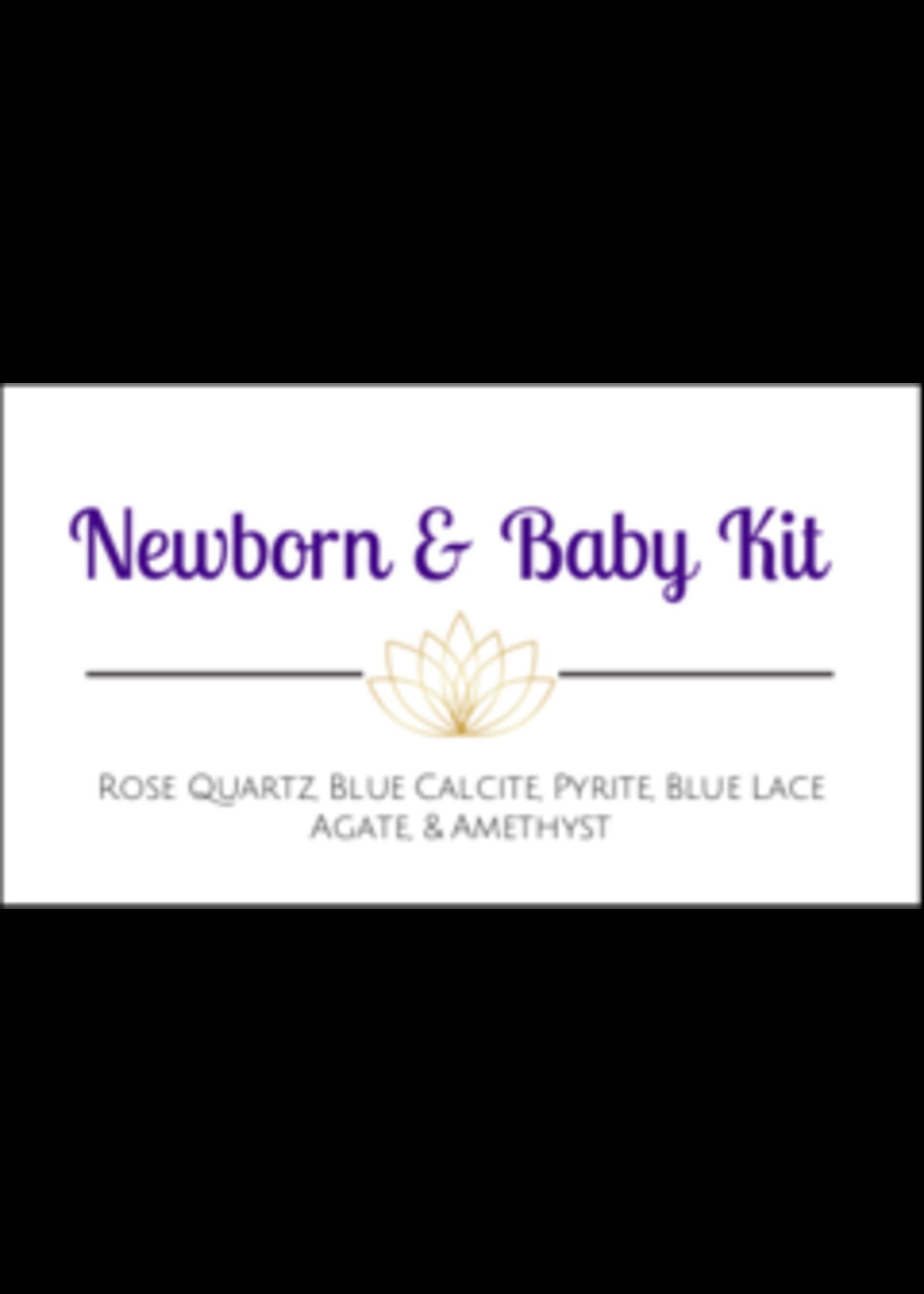 Newborn & Baby Crystal Kit Cards - Box of 100
