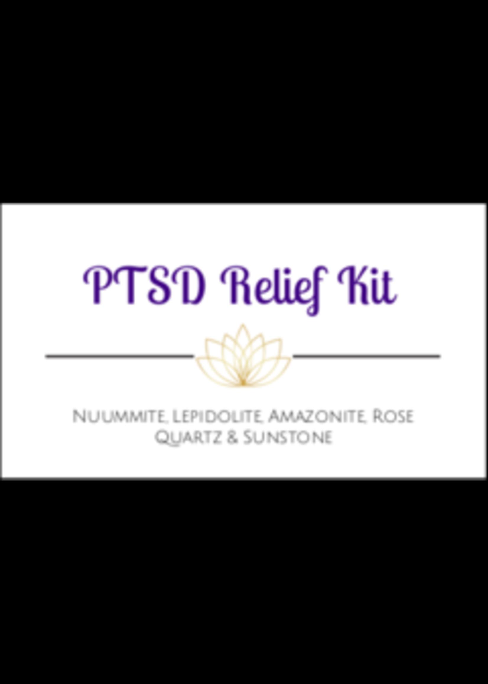 PTSD Crystal Kit Cards - Box of 100