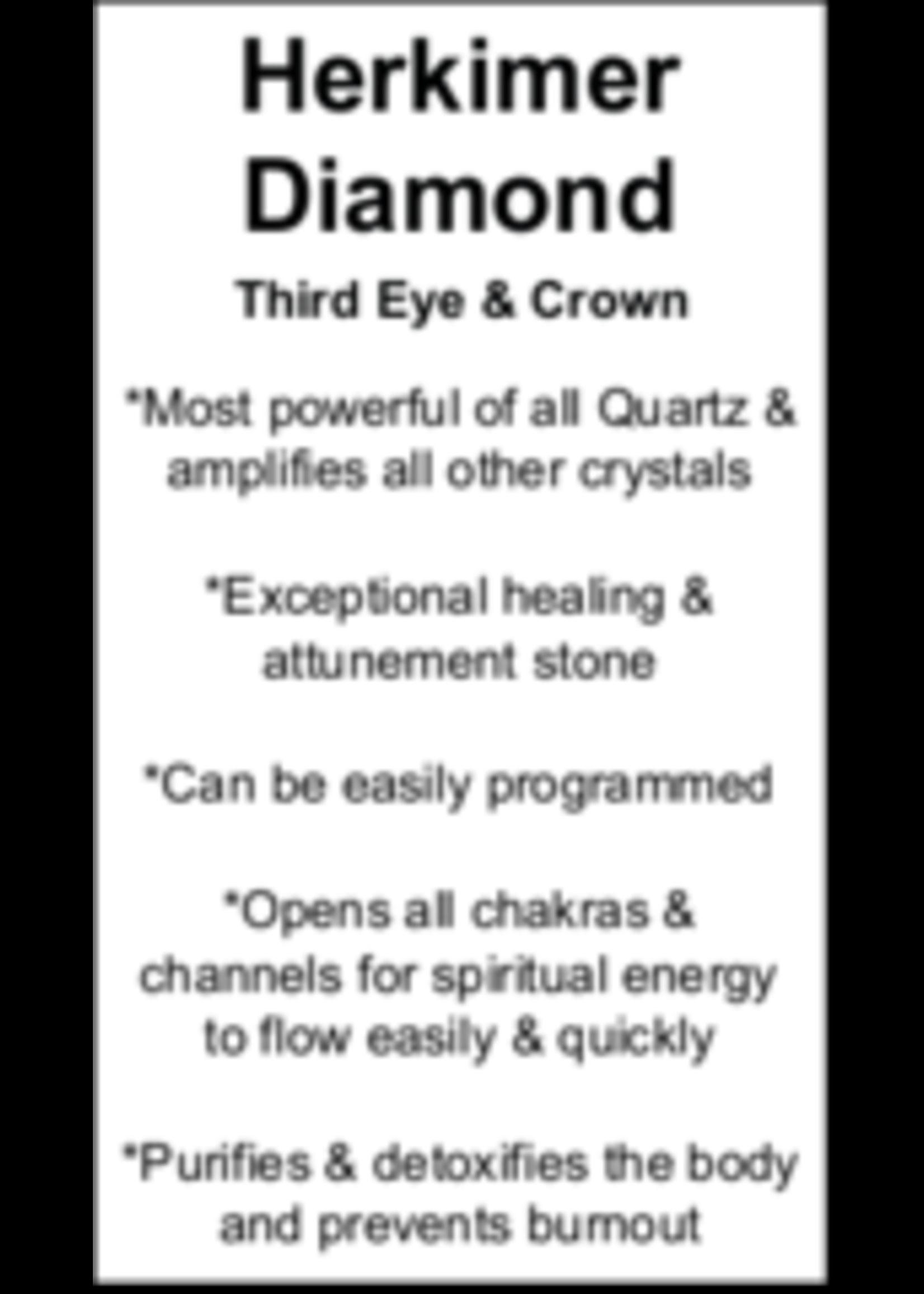 Herkimer Diamond Cards - Box of 250