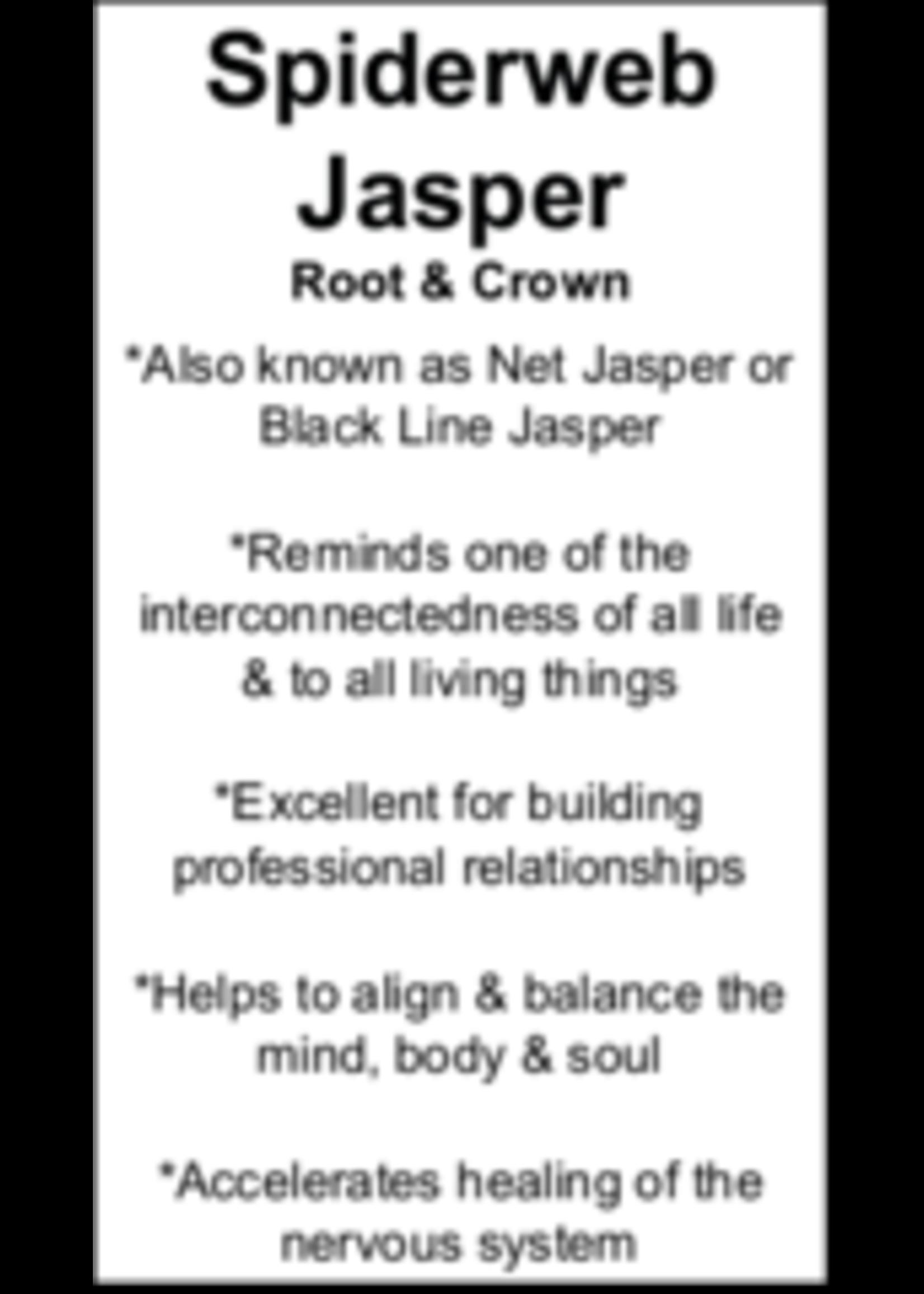 Spiderweb Jasper Cards - Box of 250