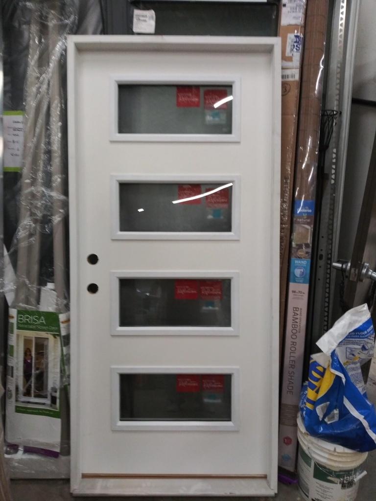 New Pre-Hung Door