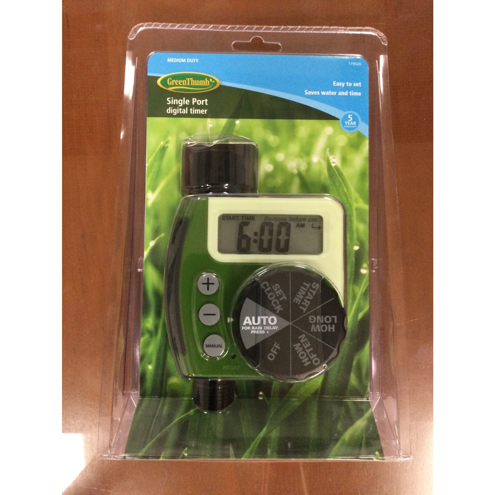6673 Orbit Irrigation Dial and Timer