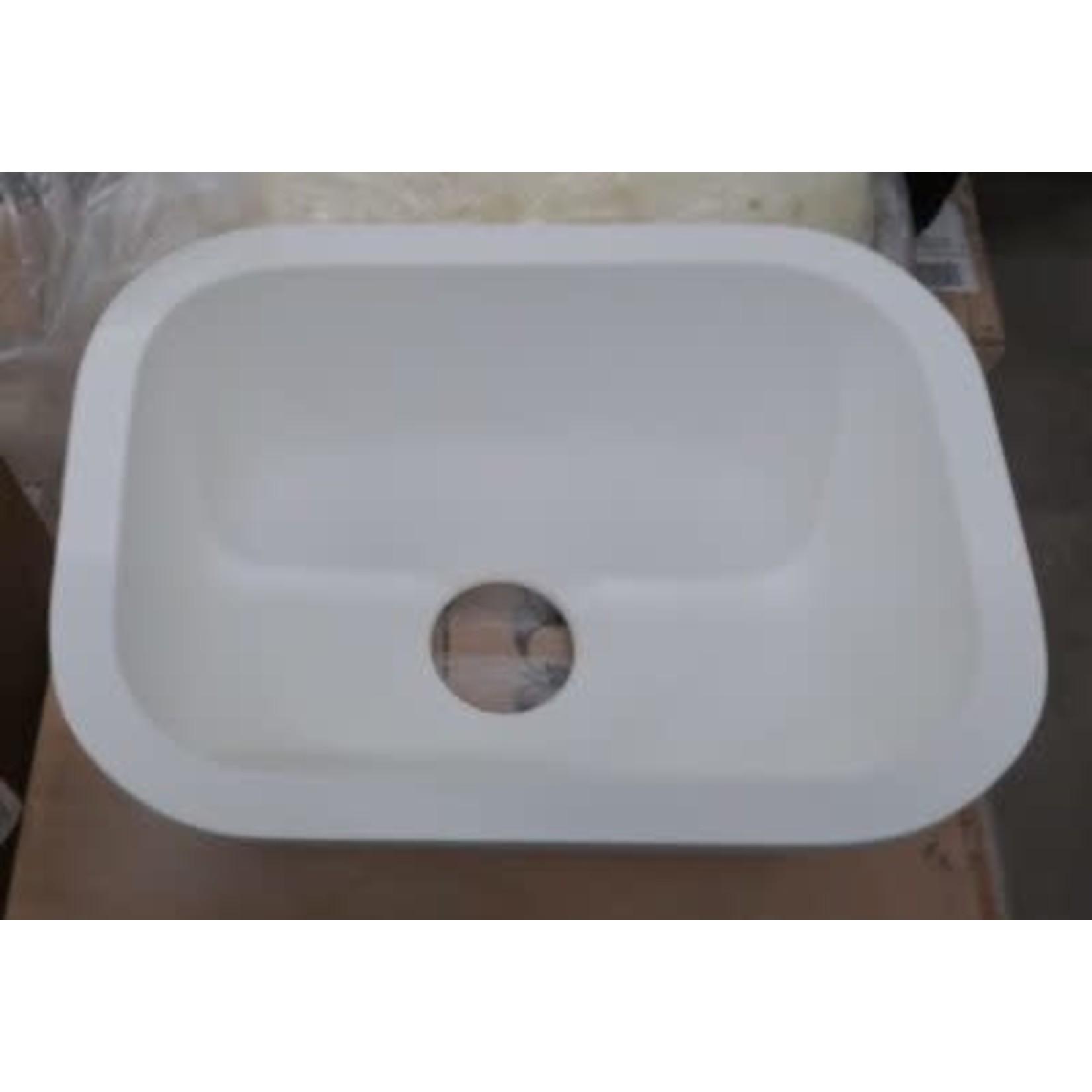 2804 LG Hausys Arctic White Single Sink