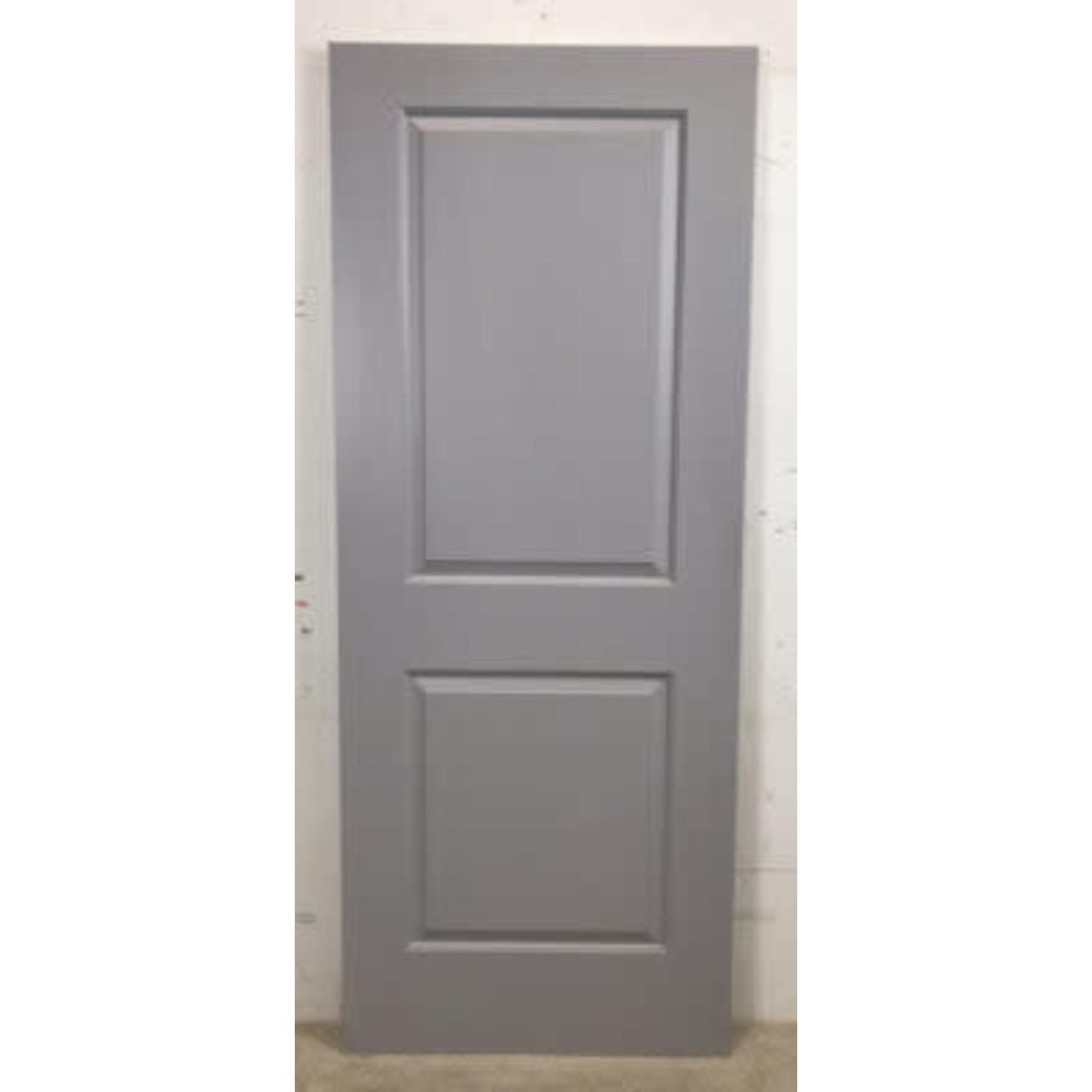 4825 New 2-Panel Grey Hollow-Core Interior Door